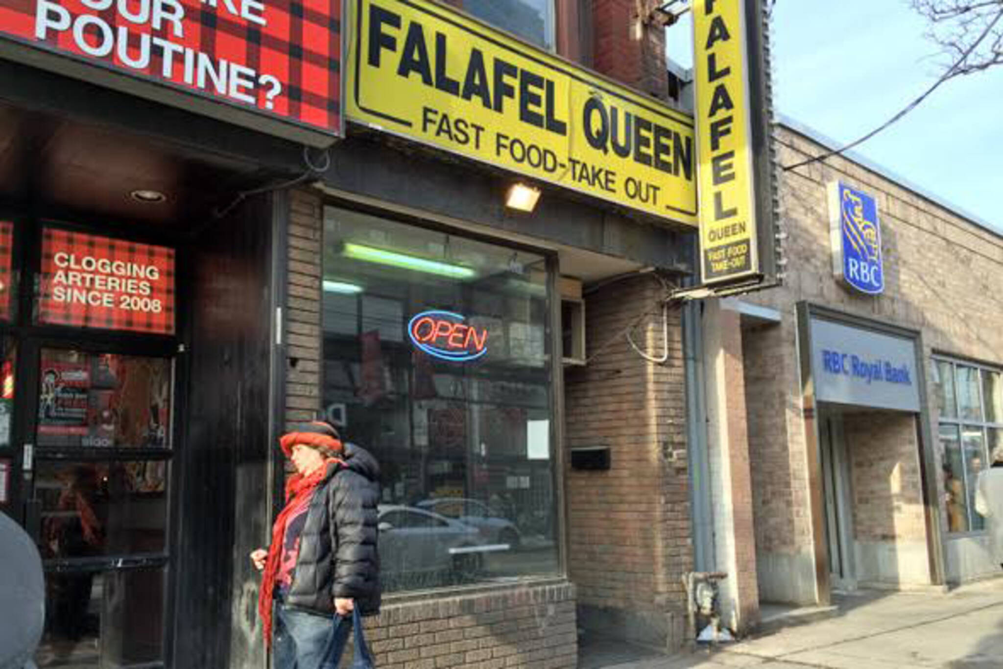 Falafel Queen Toronto