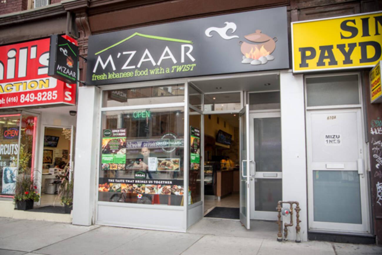 Mzaar Restaurant Toronto