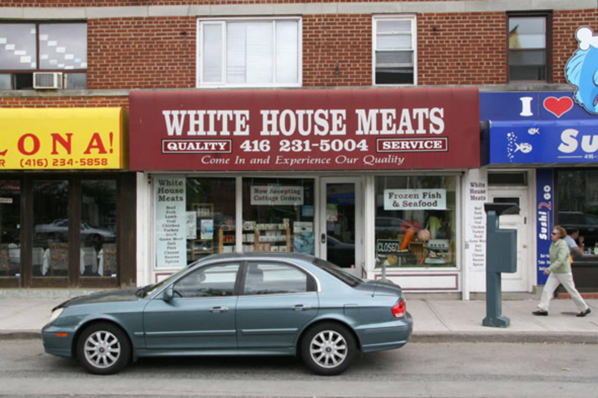 White House Meats Kingsway Toronto