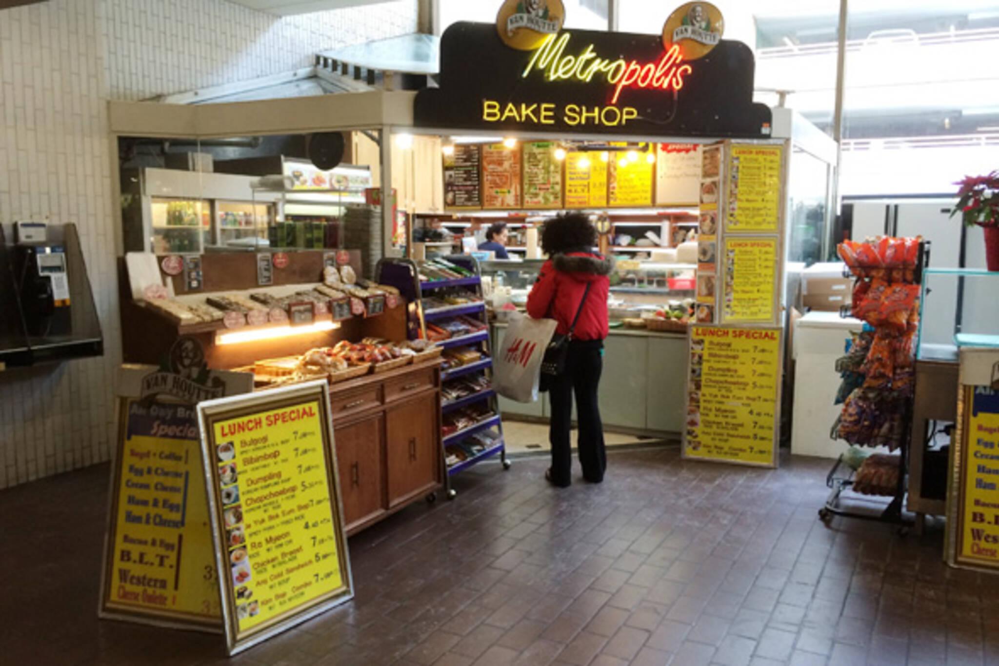 Metropolis Bake Shop