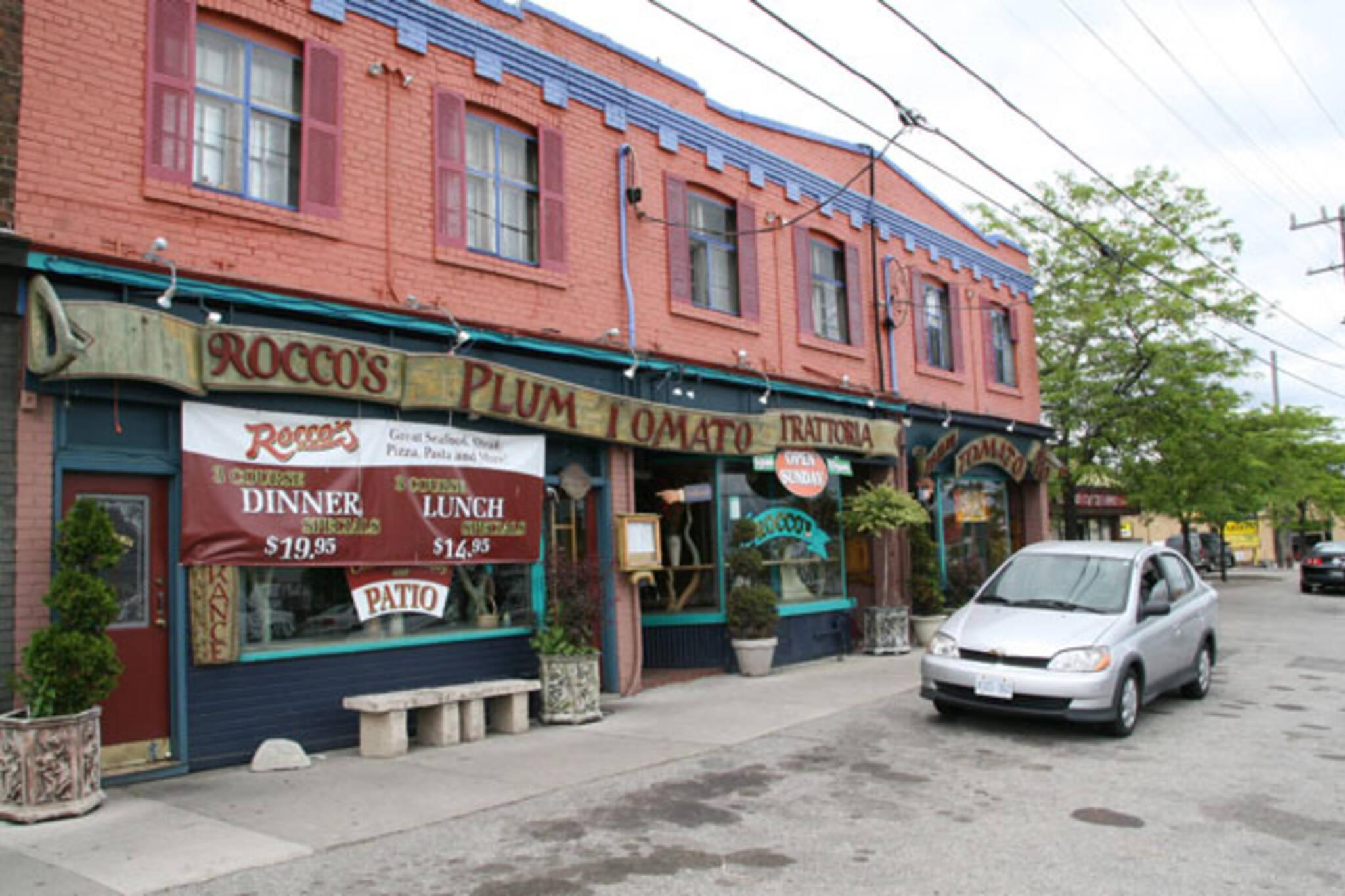 Rocco's Plum Tomato Queensway Toronto
