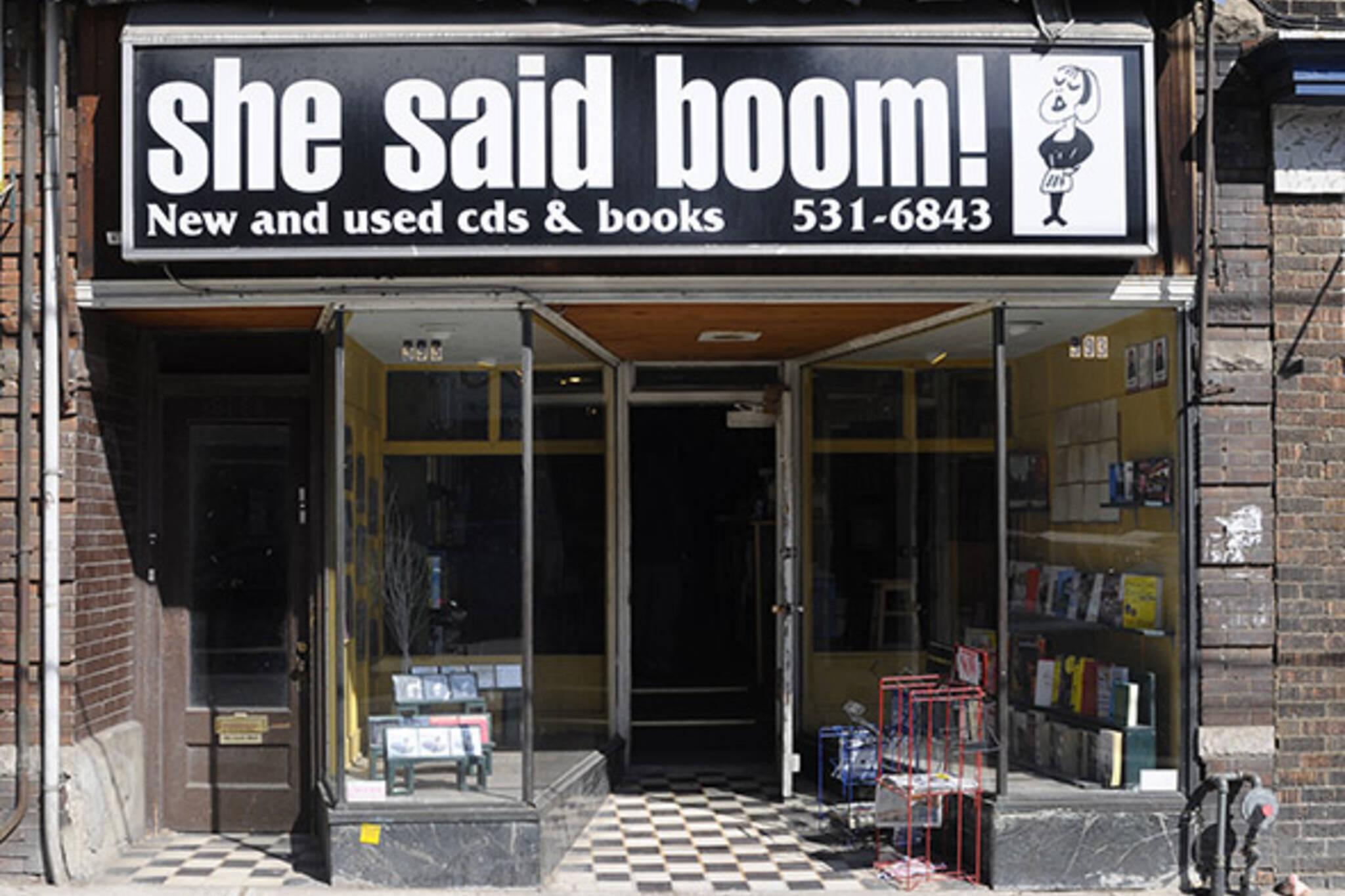 She Said Boom Toronto