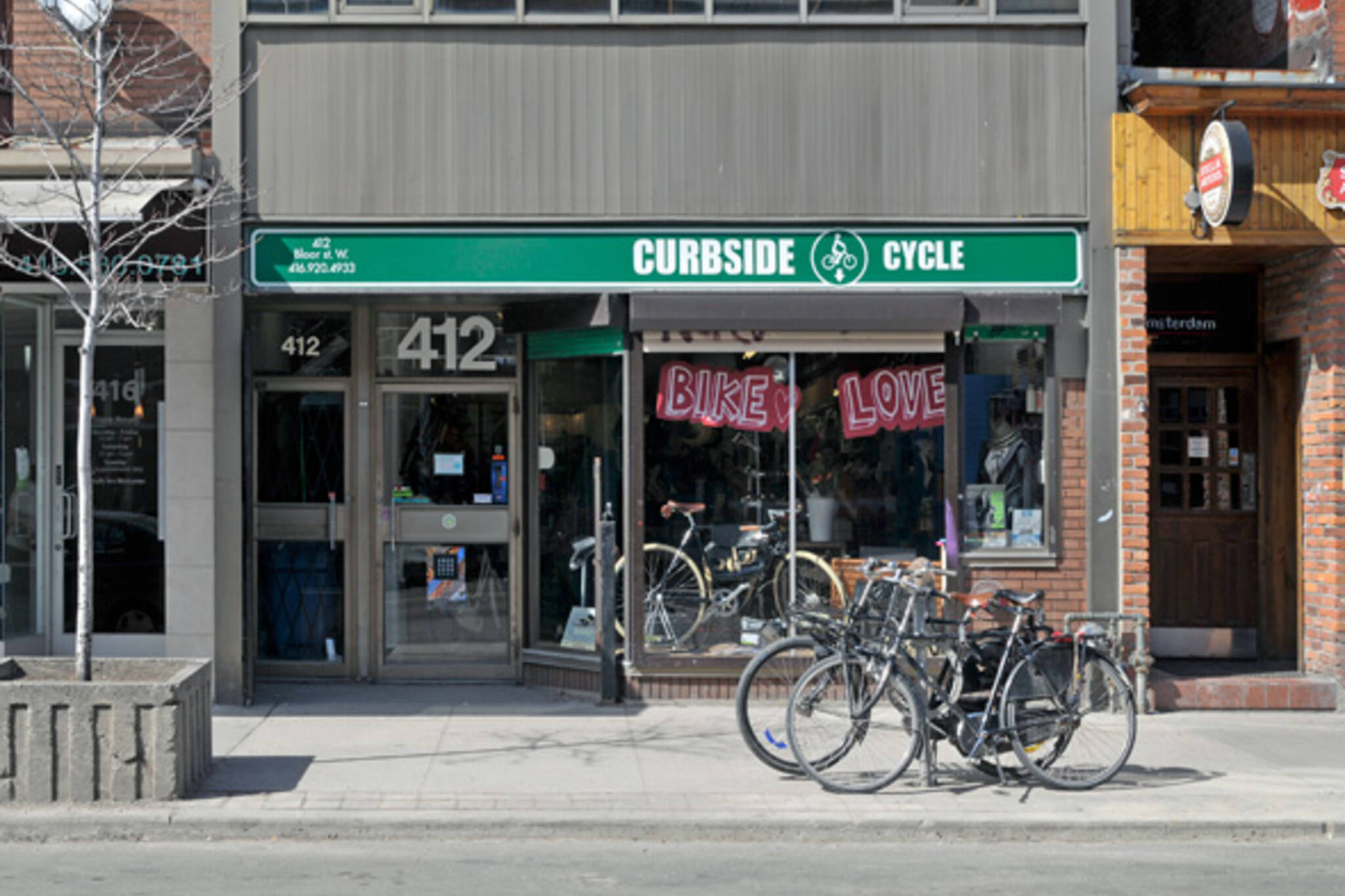 Curbside Cycle Annex
