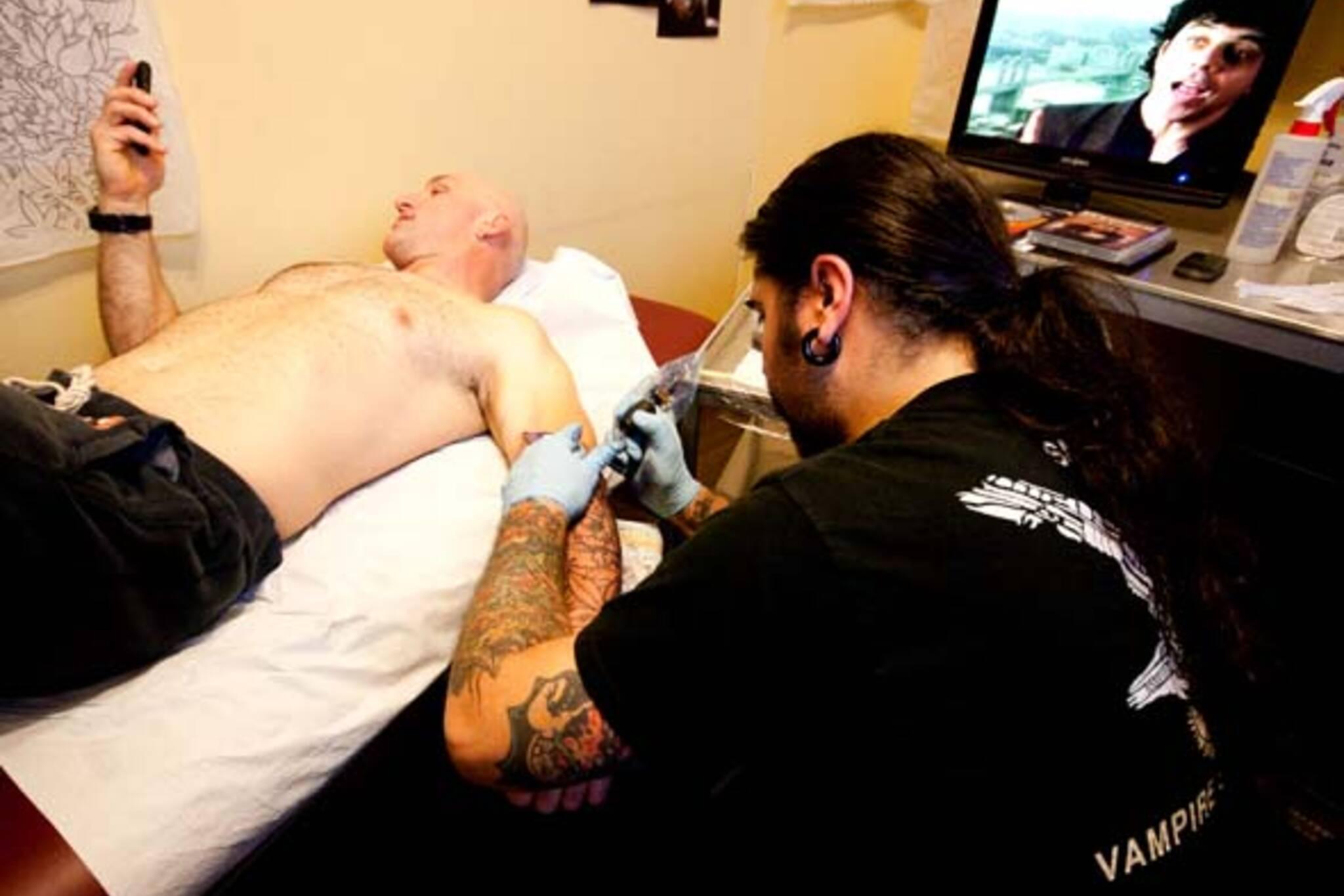 Seven Crowns Tattoo