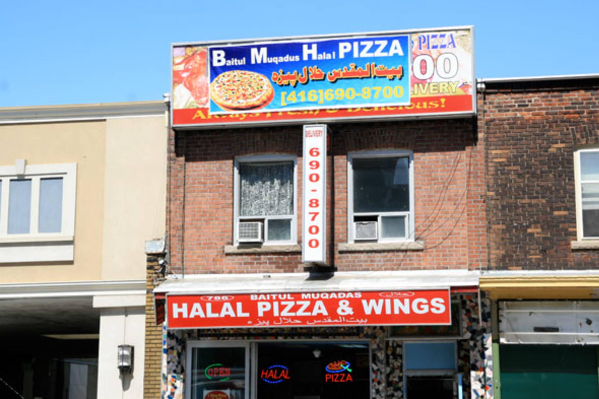 Baitul Muqadus Halal Pizza & Wings Toronto