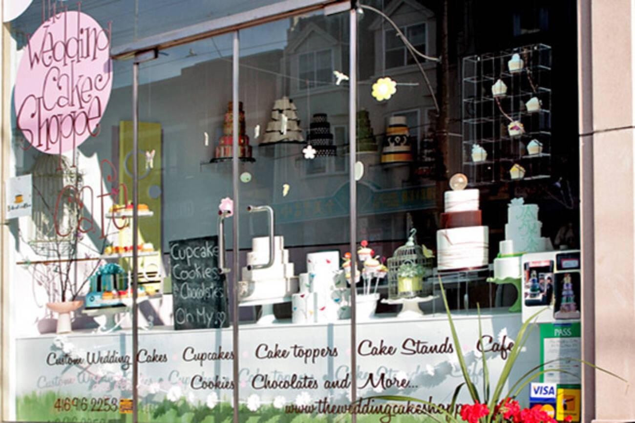 Wedding Cake Shoppe Closed Blogto Toronto