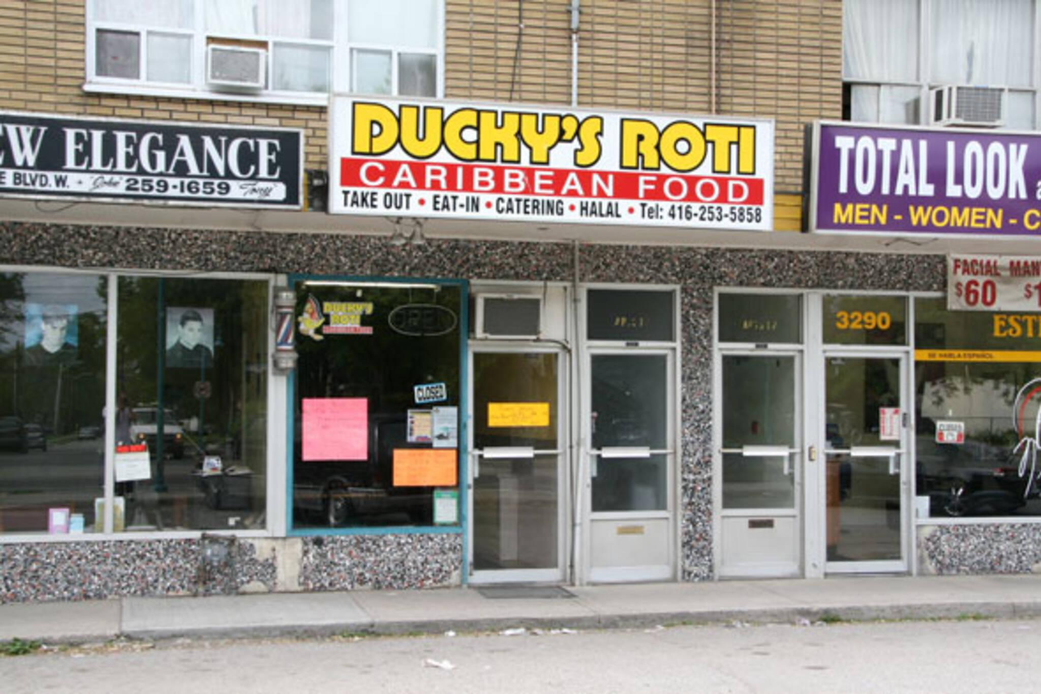 Ducky's Roti Toronto