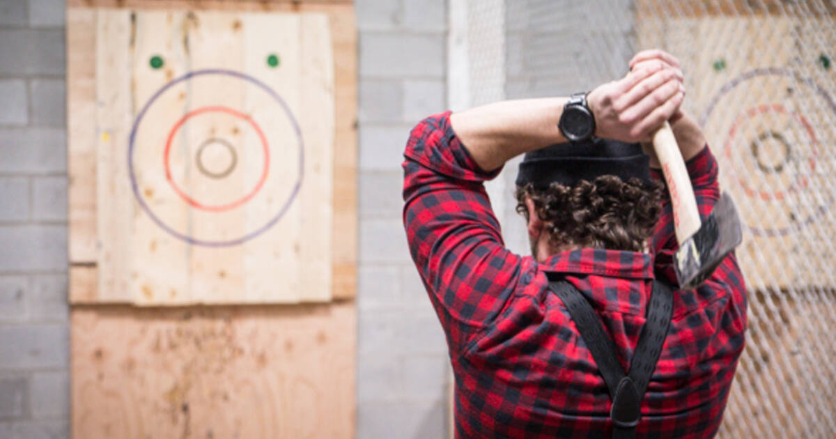 Backyard Axe Throwing League (BATL Grounds) - blogTO - Toronto