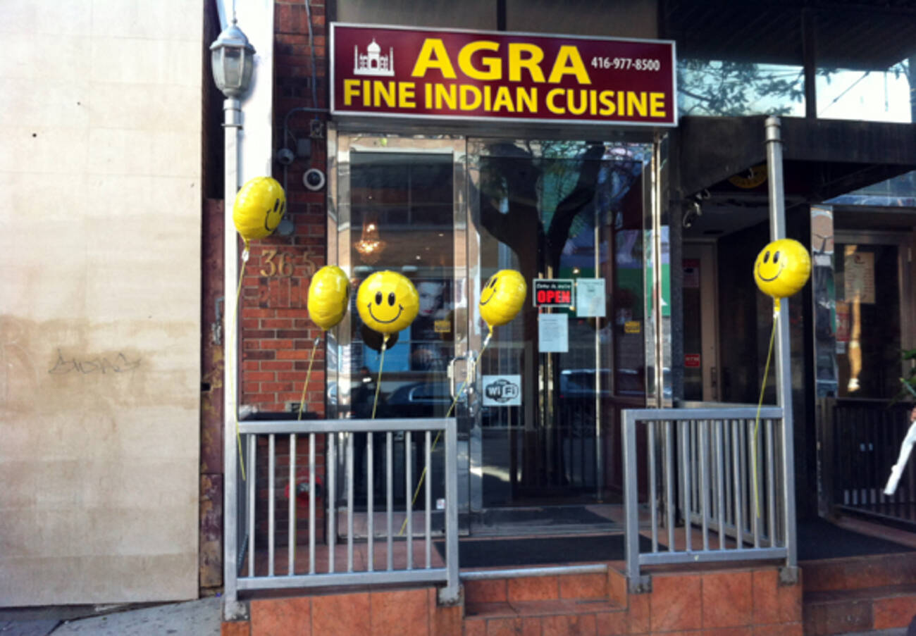 agra fine indian cuisine king west closed blogto On agra fine indian cuisine menu