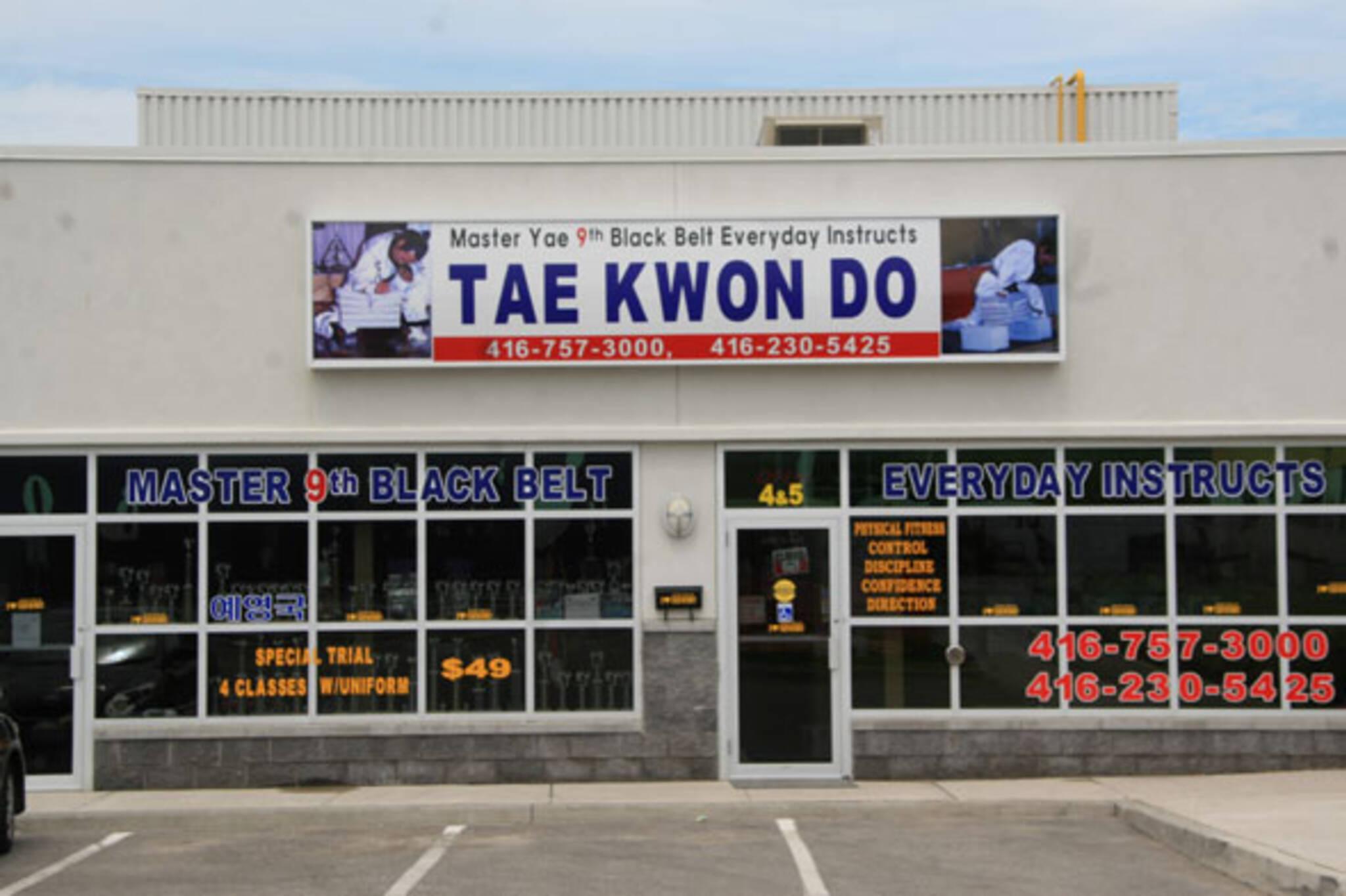Master Yae Tae Kwon Do