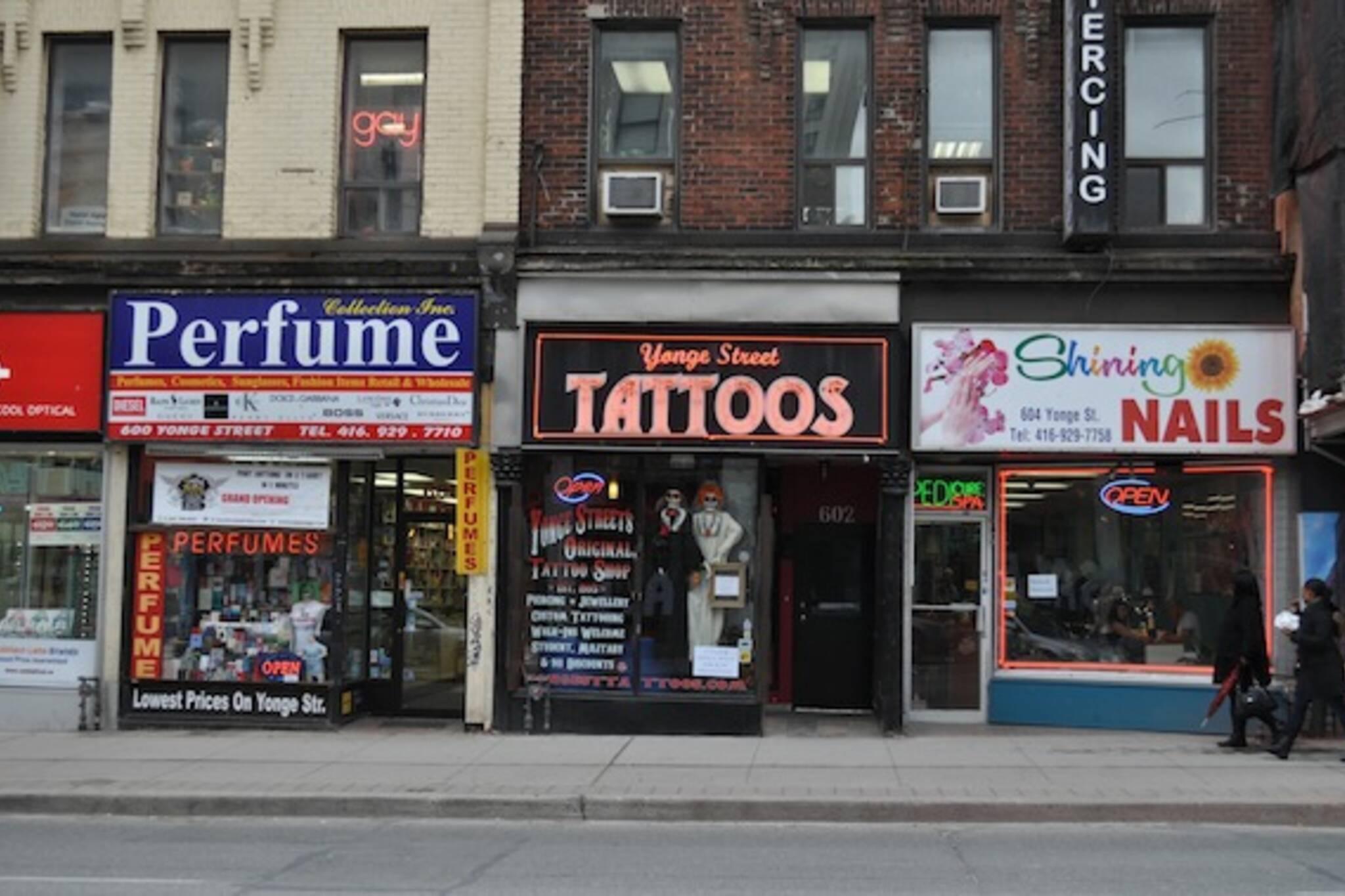 Yonge Street Tattoos