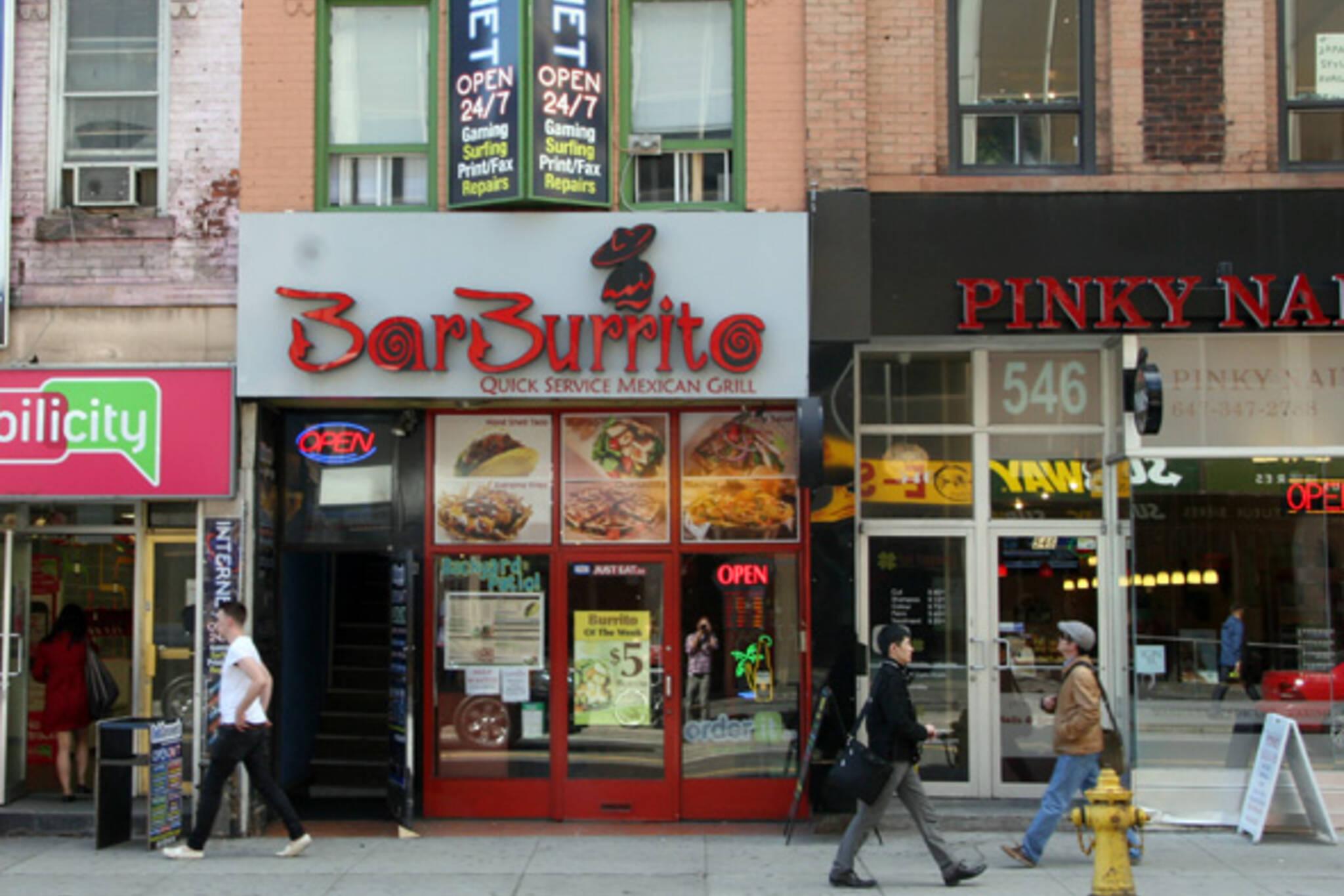 bar burrito toronto