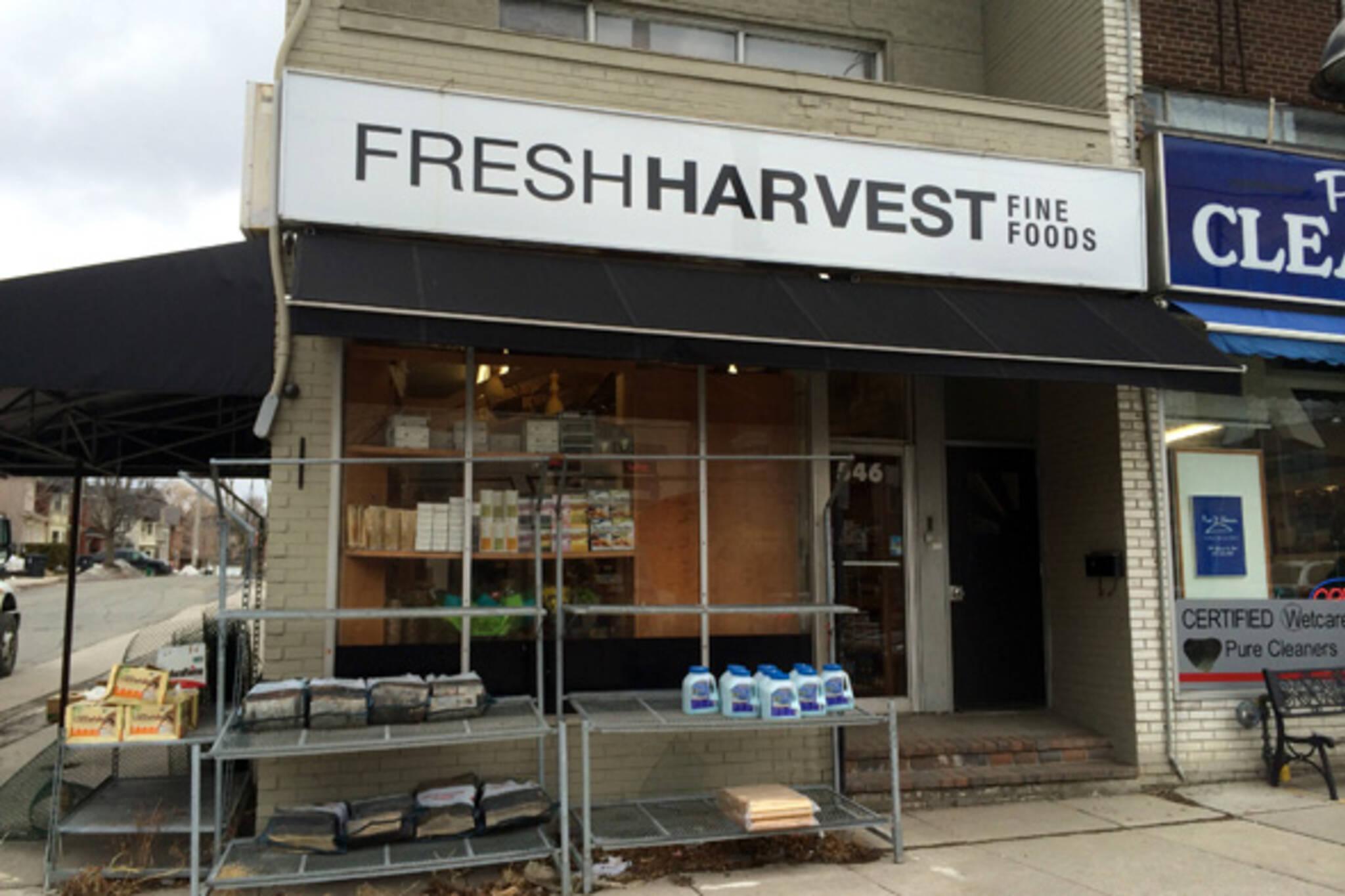 fresh harvest fine foods toronto