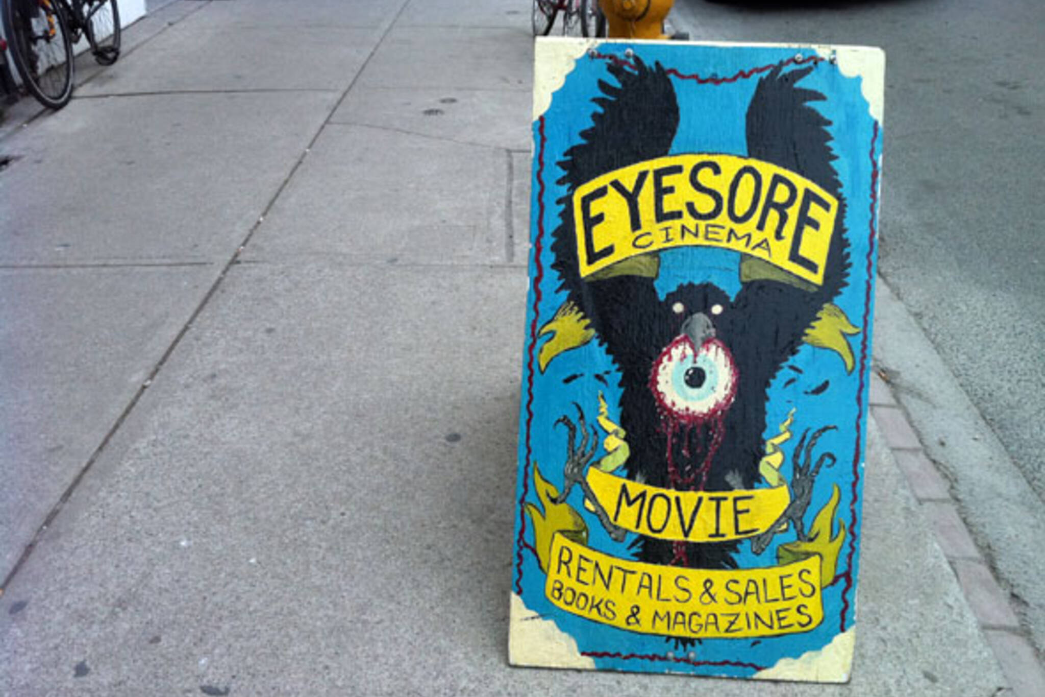 Eyesore cinema toronto