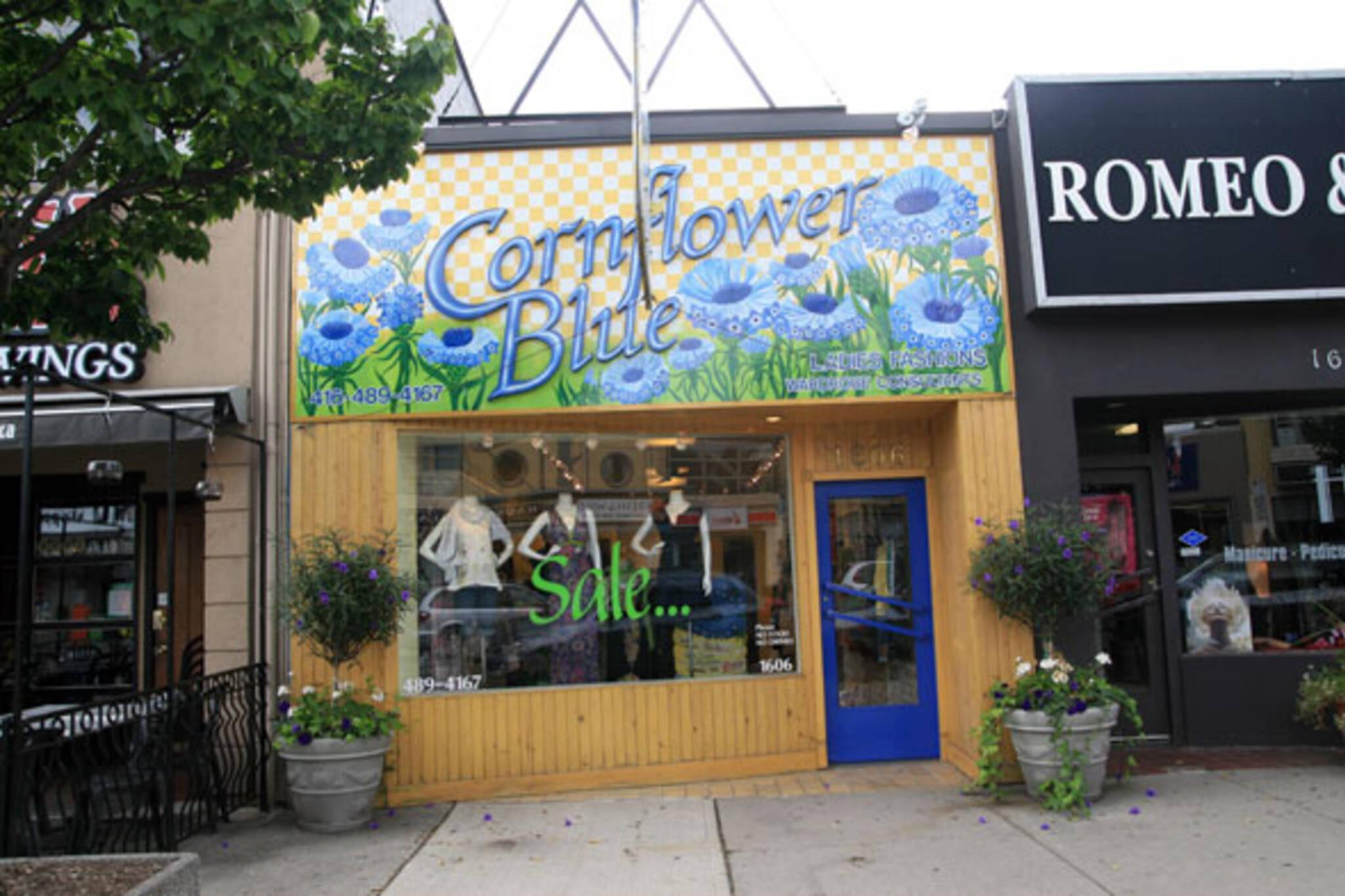 Cornflower Blue Toronto