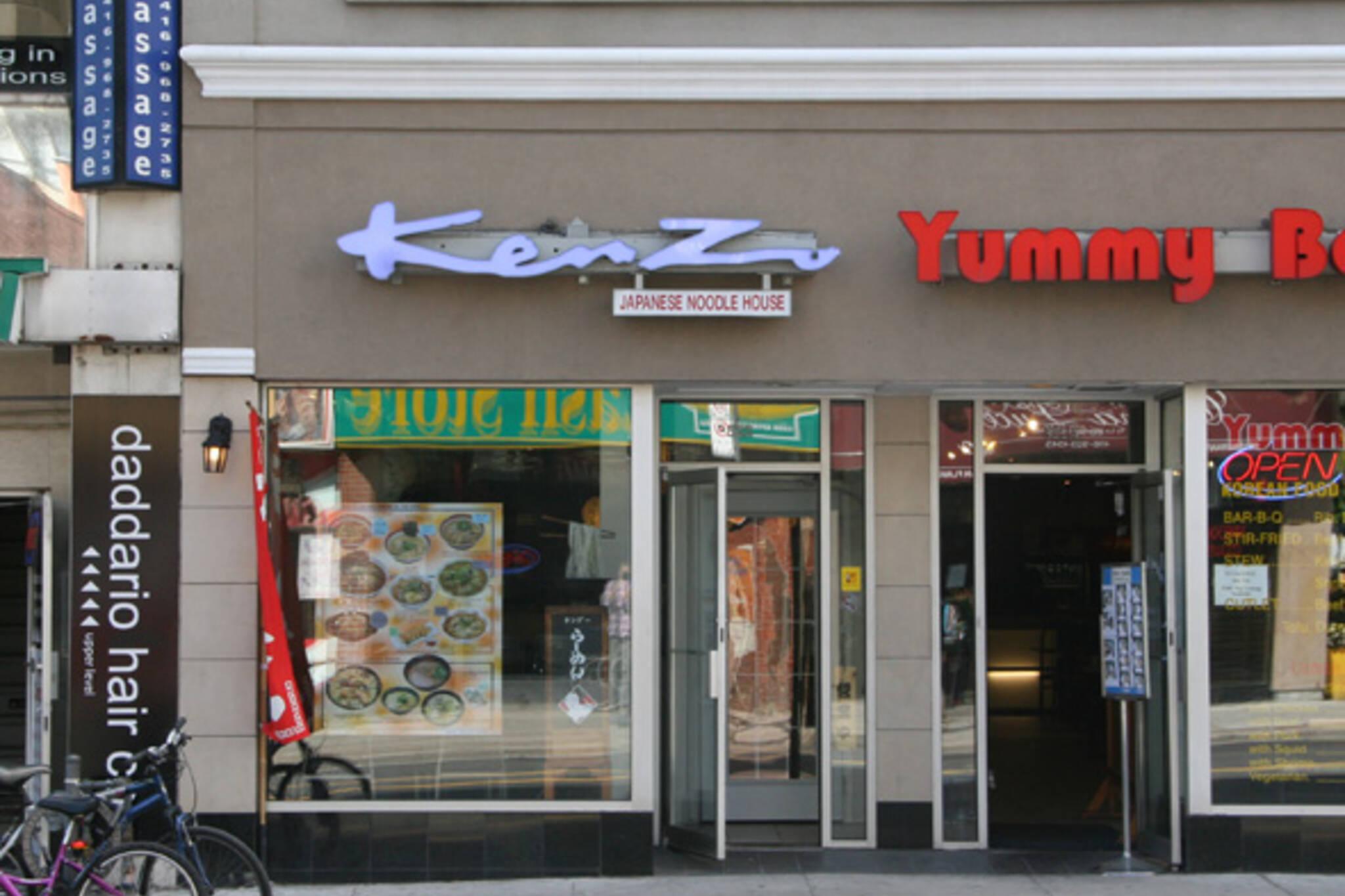 kenzo japanese noodle house toronto