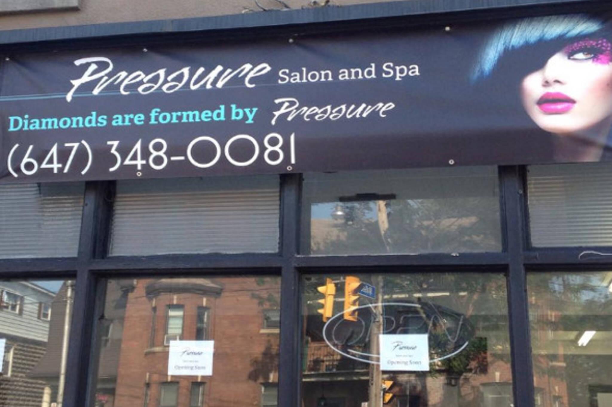Pressure salon and spa blogto toronto for W salon and spa