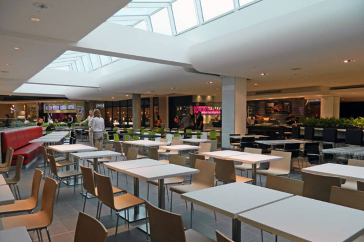 Yorkdale Food Court Map