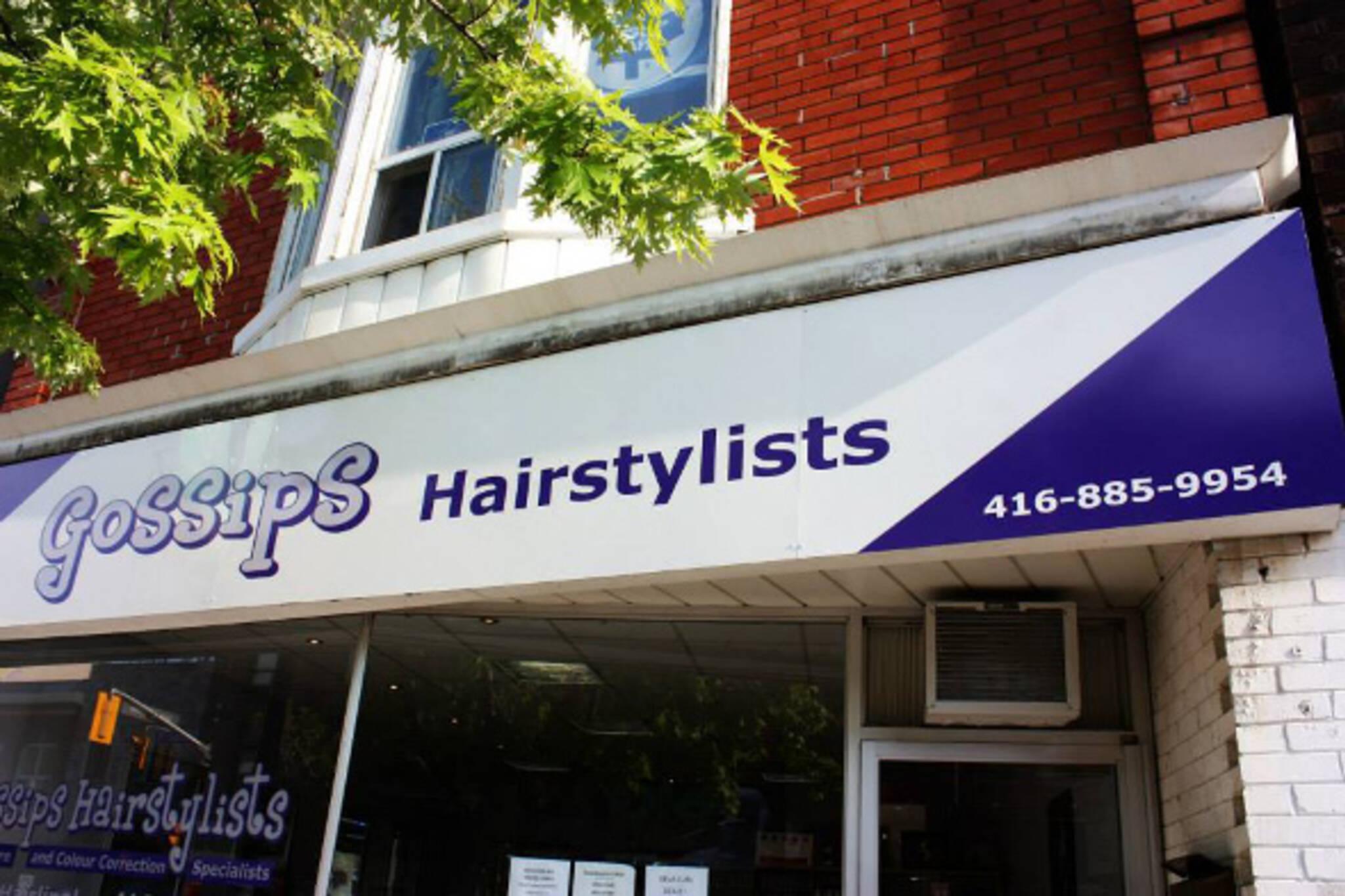 gossips hairstylists toronto