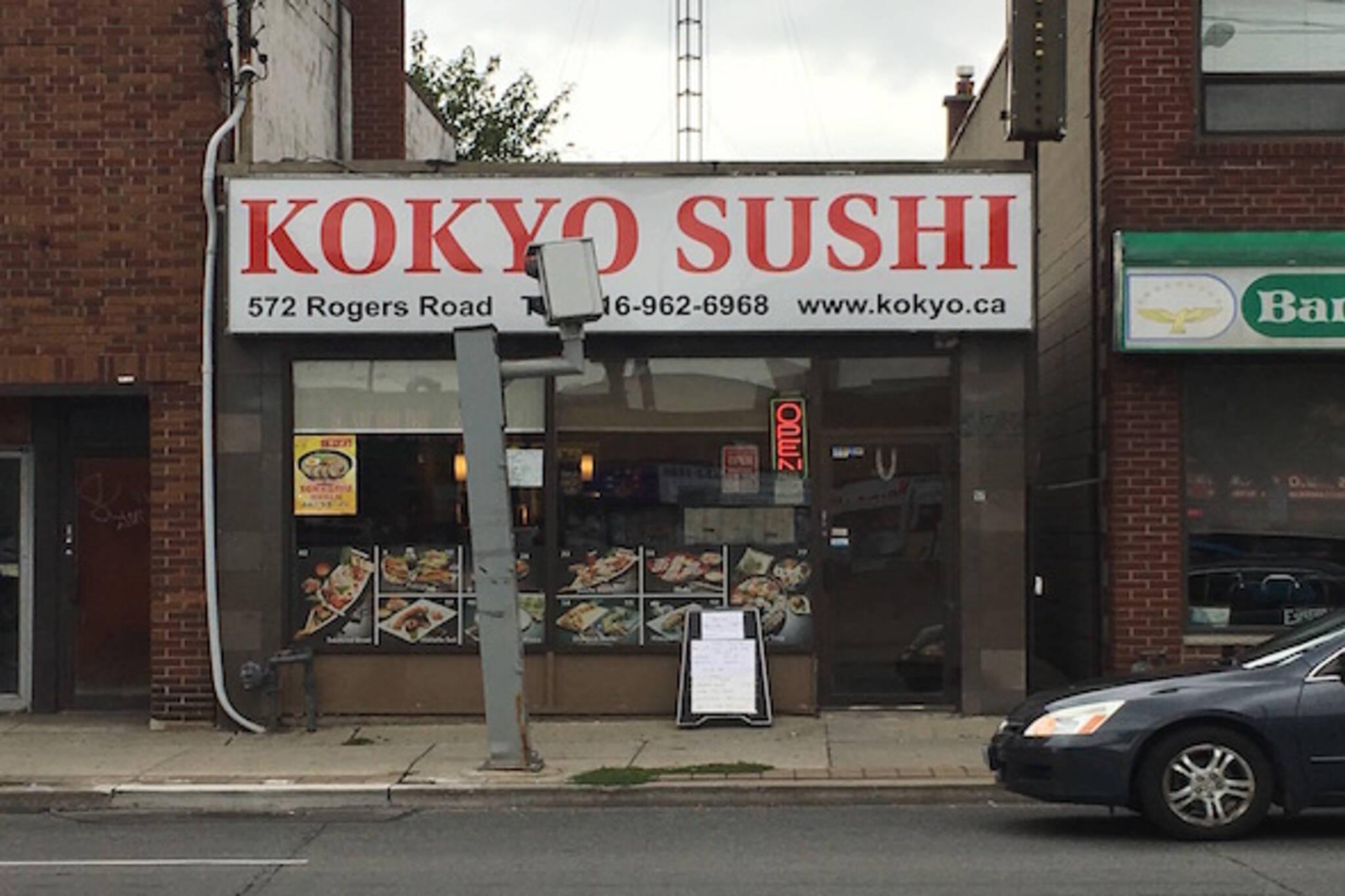 Kokyo Sushi Toronto