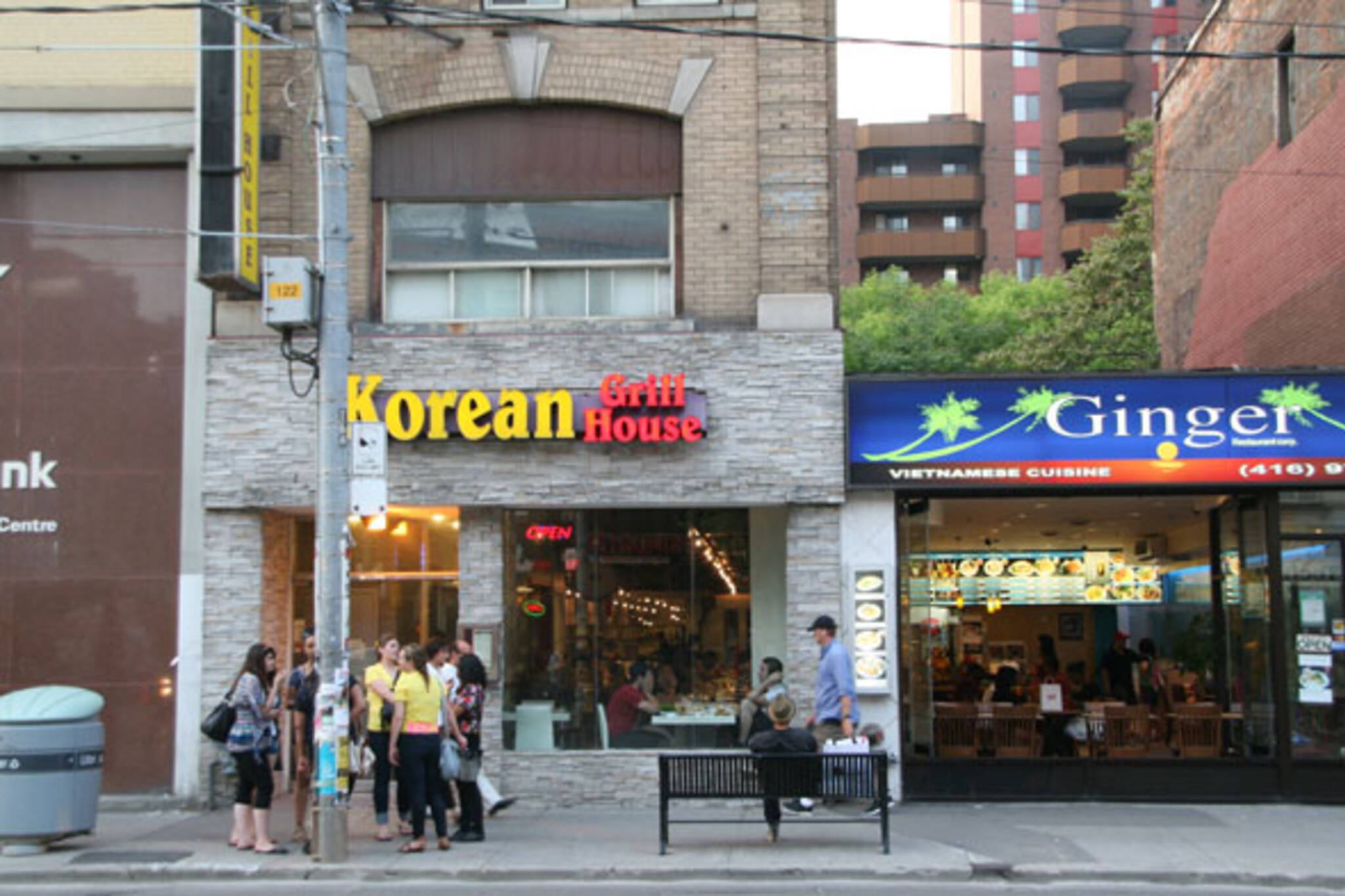 korean grill house queen st blogto toronto. Black Bedroom Furniture Sets. Home Design Ideas