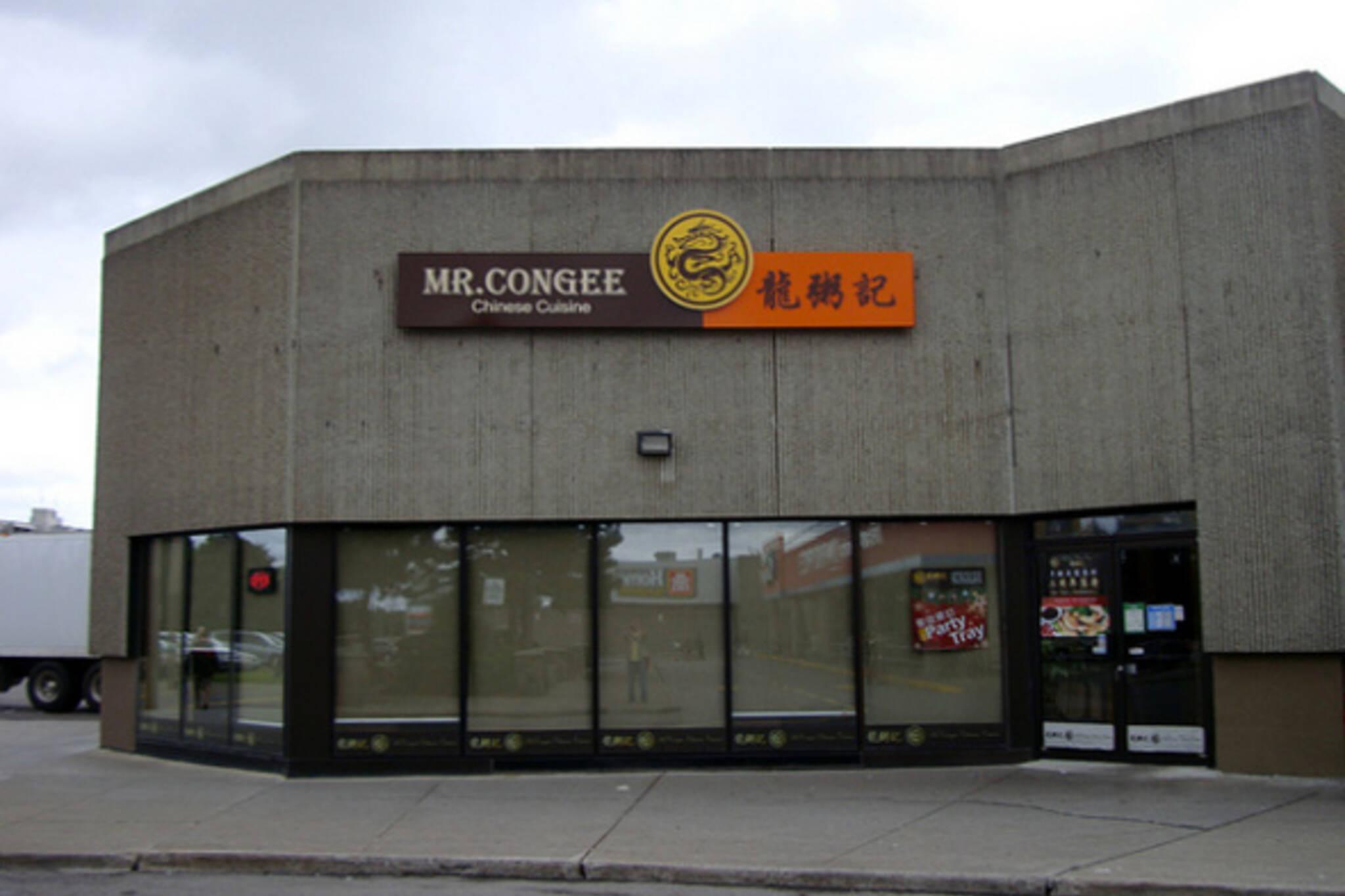 Mr Congee