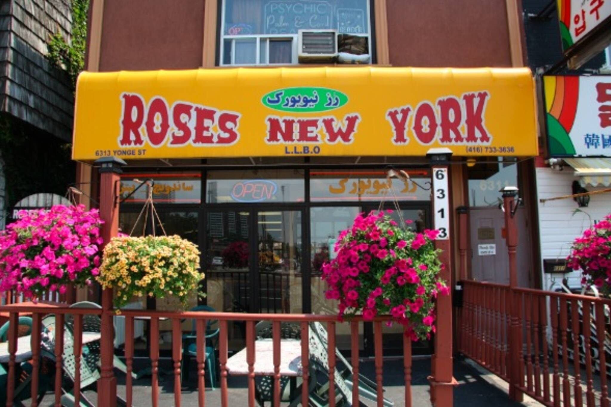 Toronto Rose's New York