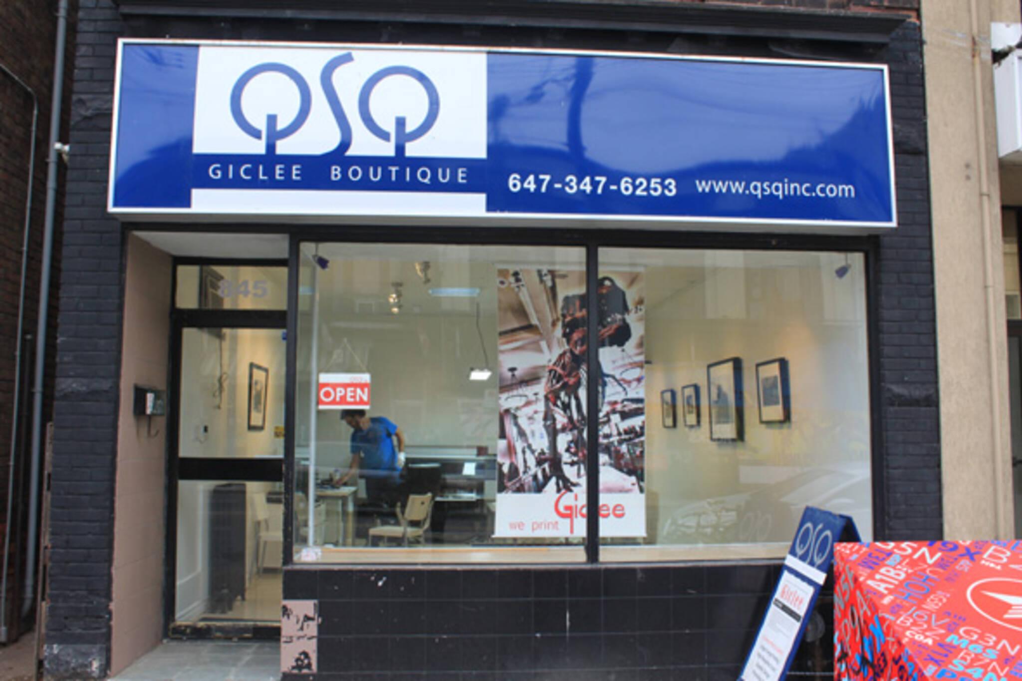 QSQ Giclee Boutique Toronto