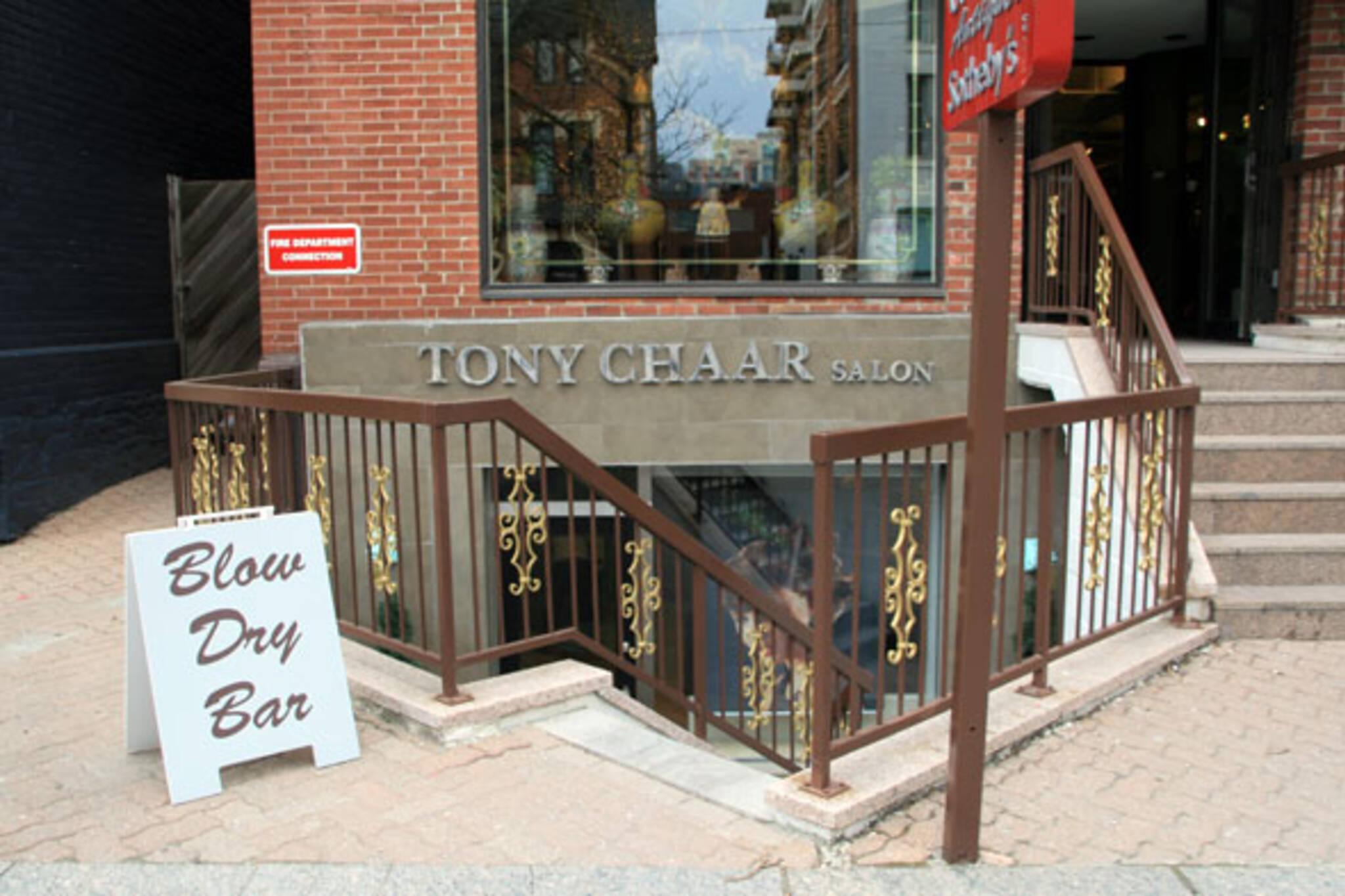 Tony Chaar Salon Toronto