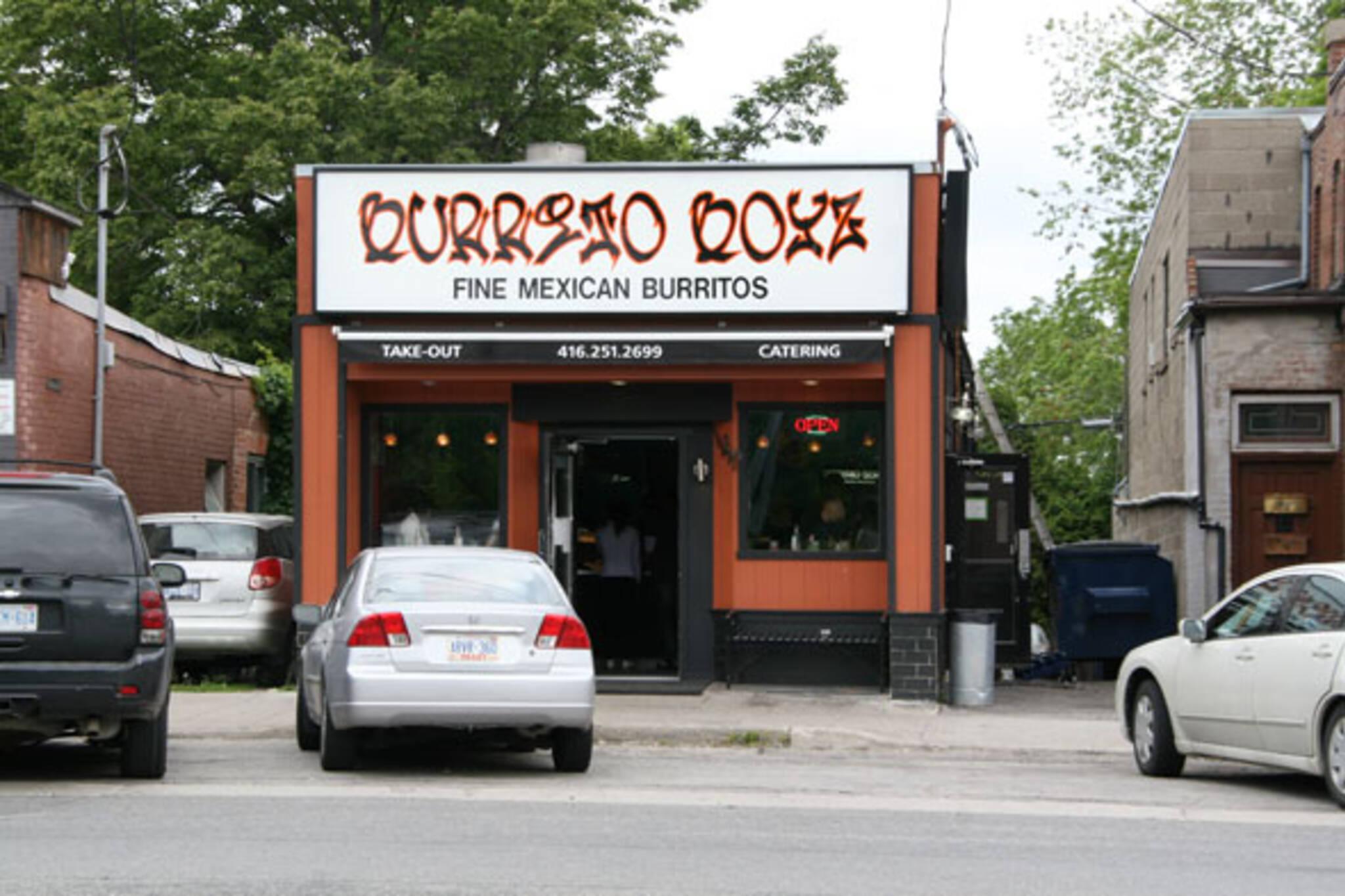 Burrito Boyz Lakeshore Toronto