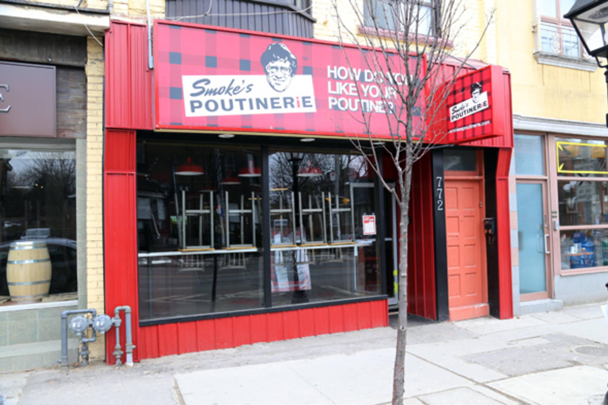 Smoke's Poutinerie Little Italy Toronto