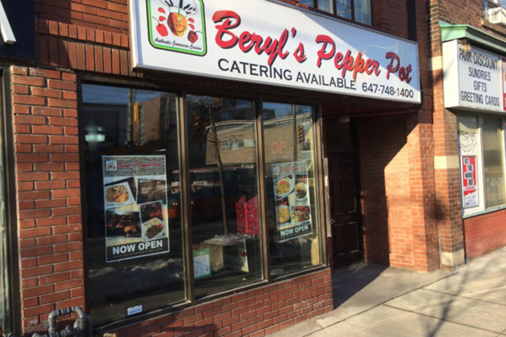 Beryls Pepper pot