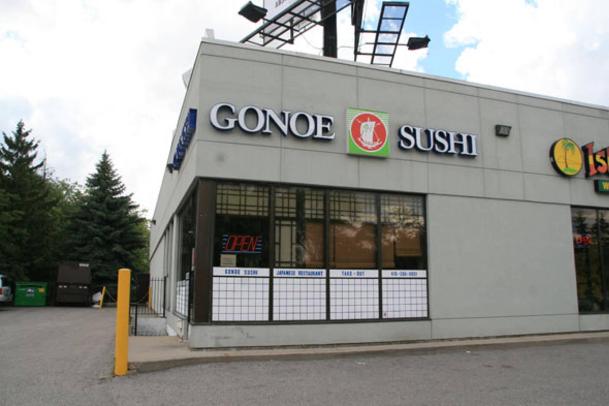 Gonoe Sushi Toronto