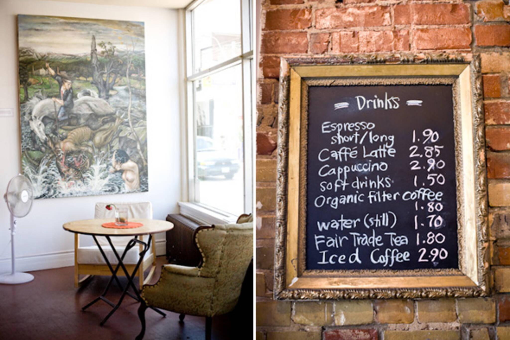 Cream Tangerine Cafe Toronto