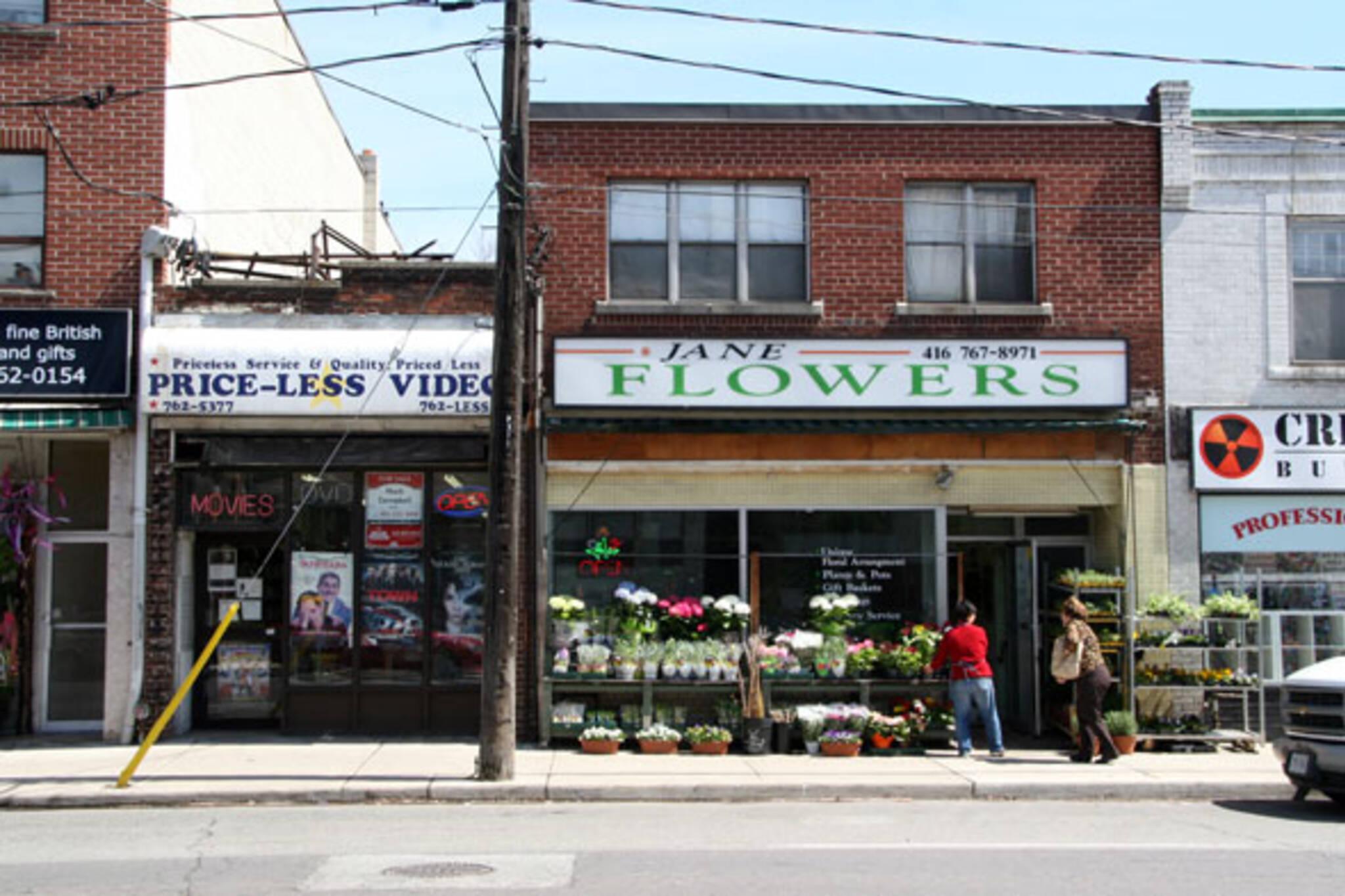 Jane Flowers Toronto