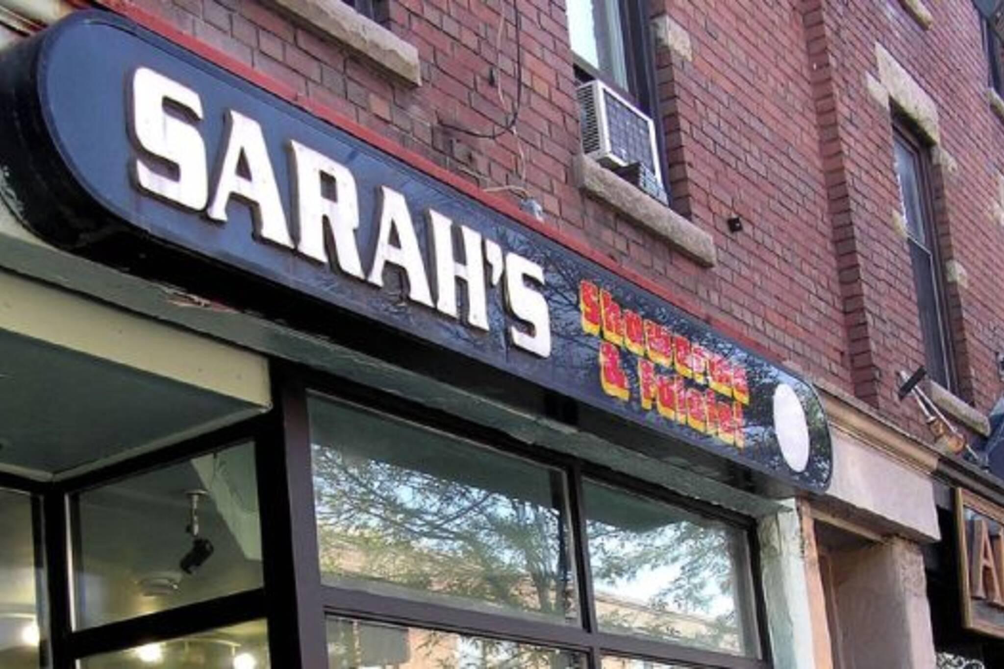 Sarah's Shawarma toronto