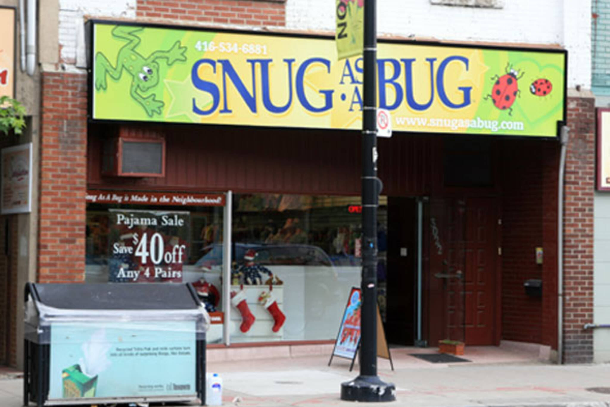 Snug as a Bug Toronto