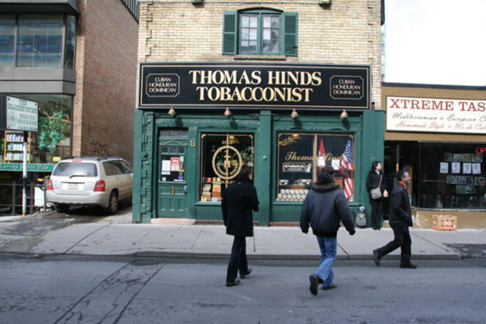 thomas hinds toronto
