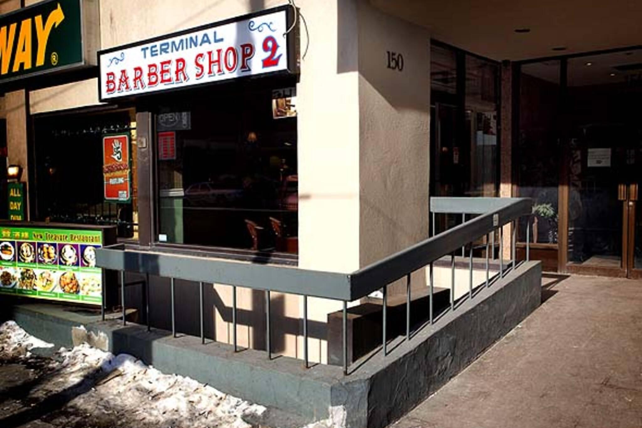 Terminal barber shop 2