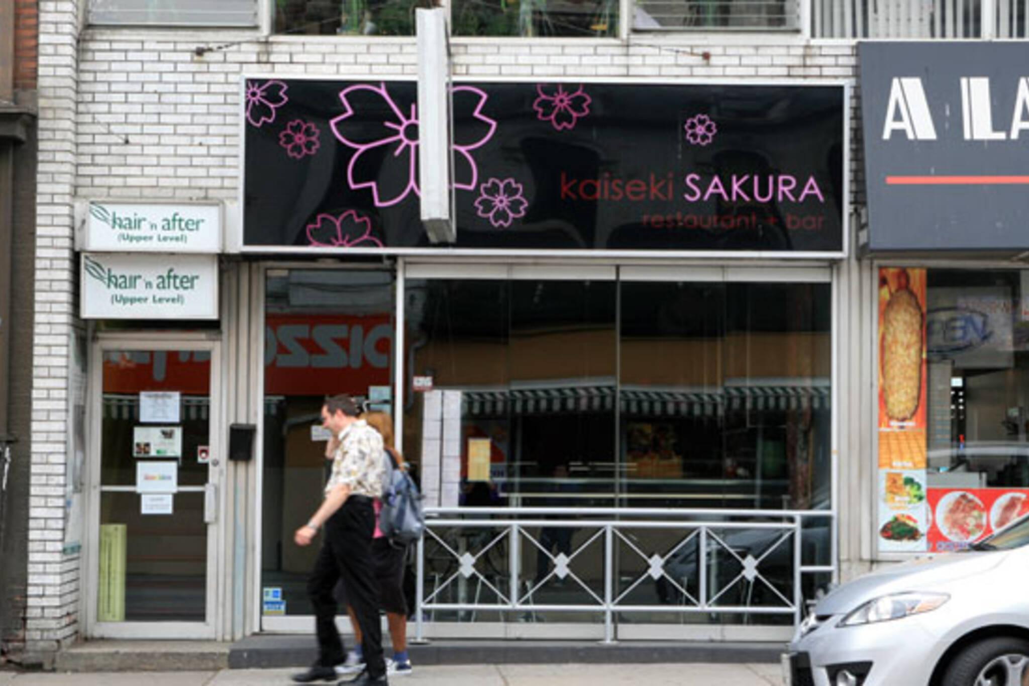 Kaiseki Sakura Toronto