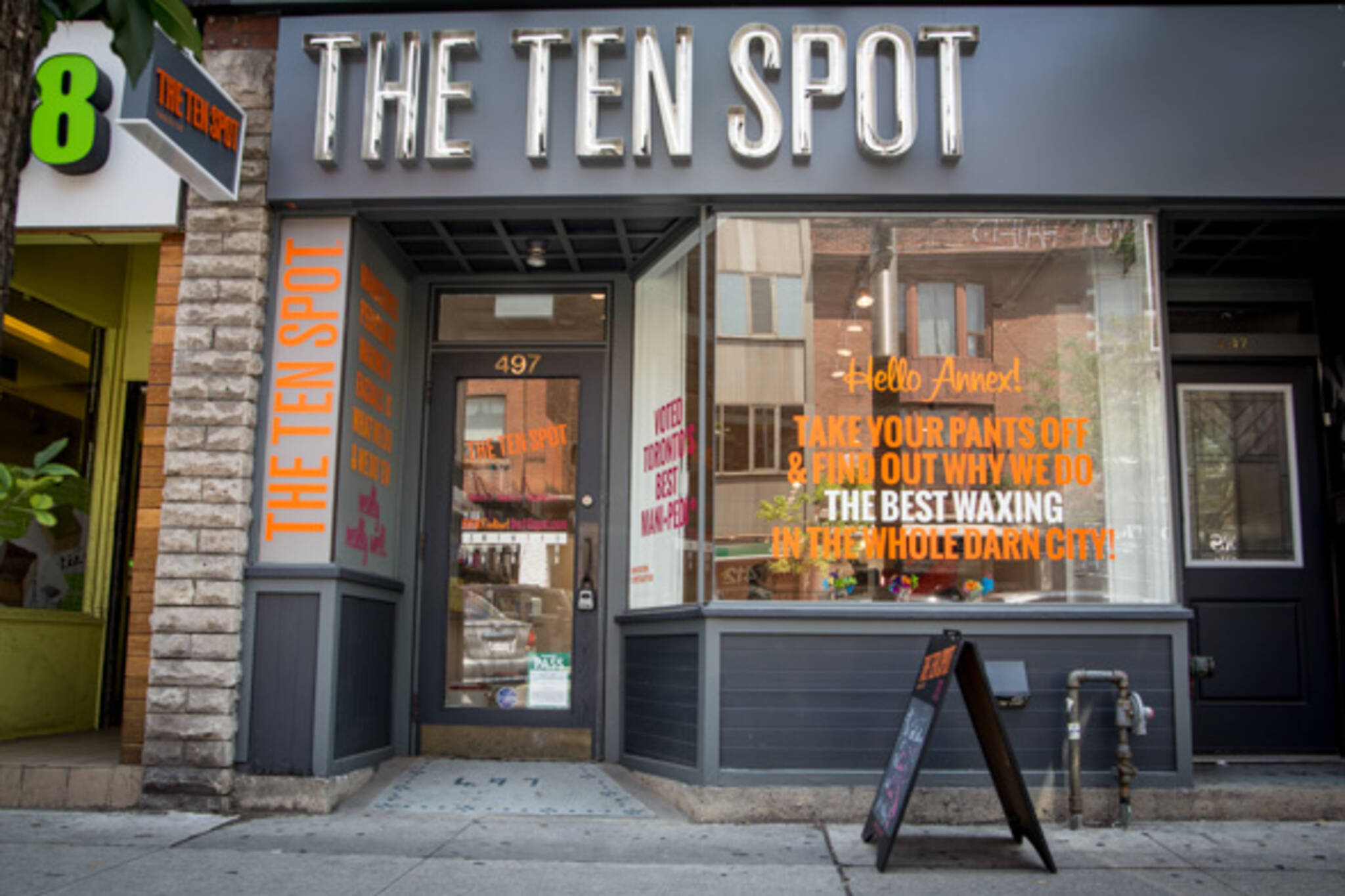 the ten spot annex toronto
