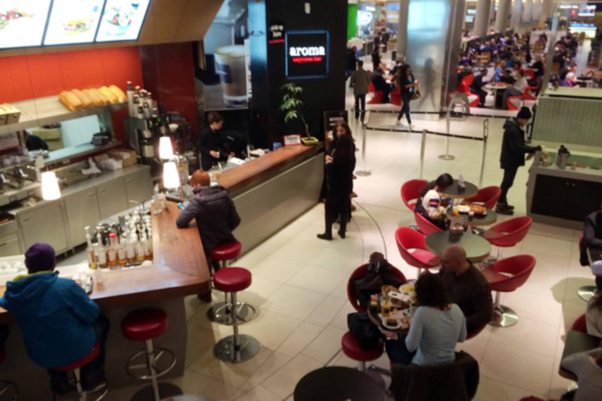 Aroma Espresso Bar eaton centre