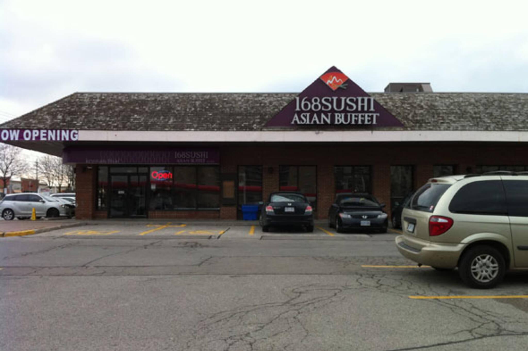 168 Sushi Asian Buffet North York