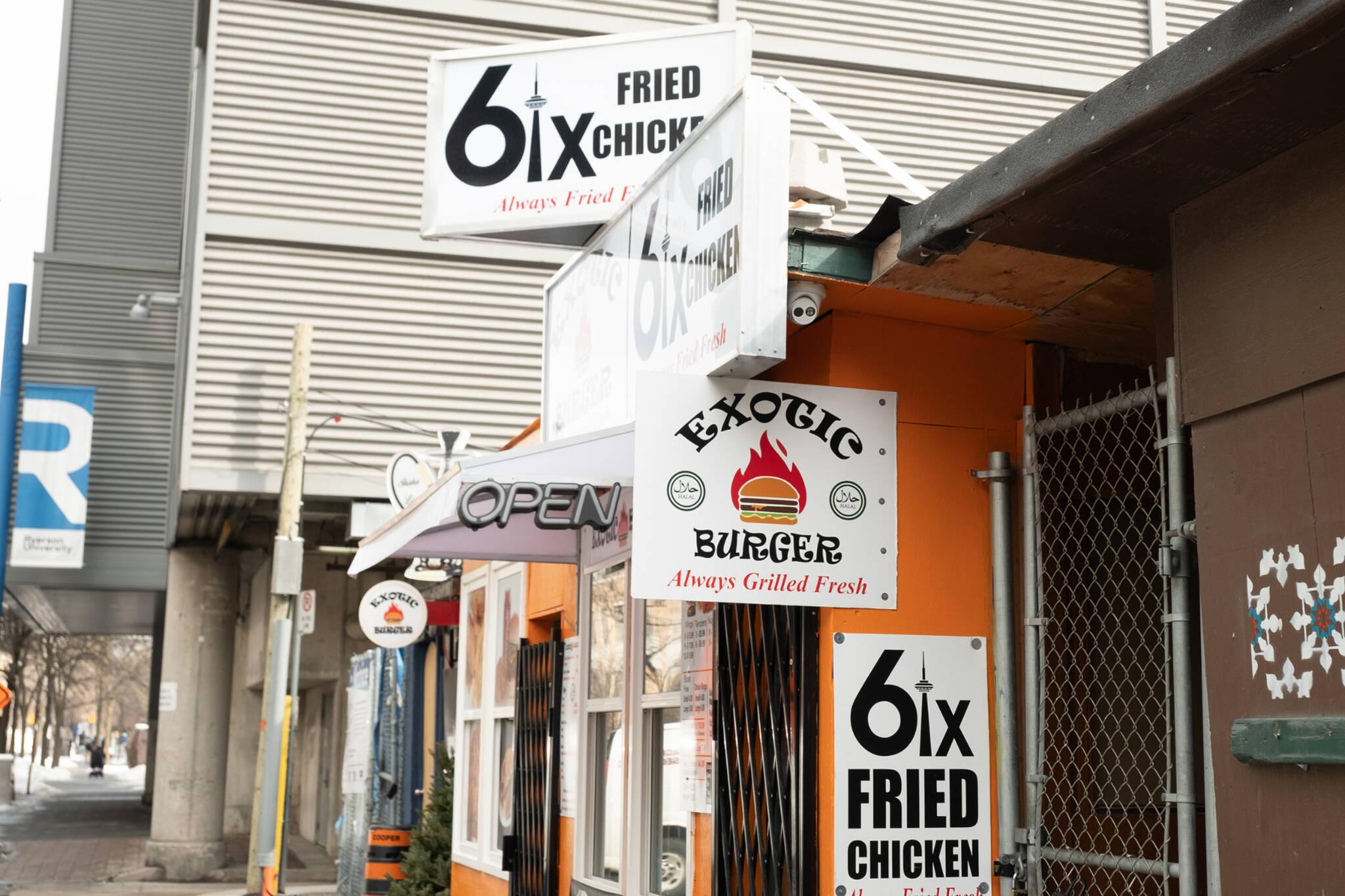 6ix Fried Chicken Toronto