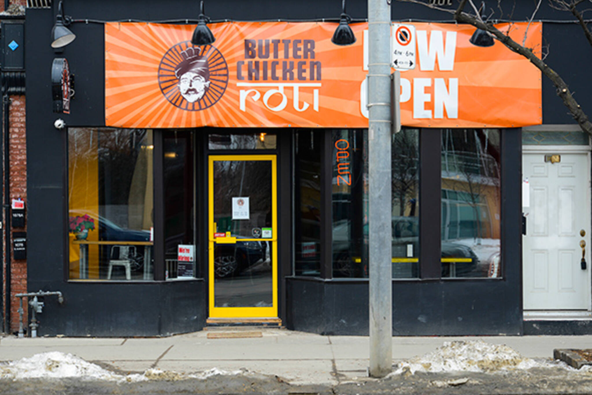 Butter Chicken Roti (West Queen West)