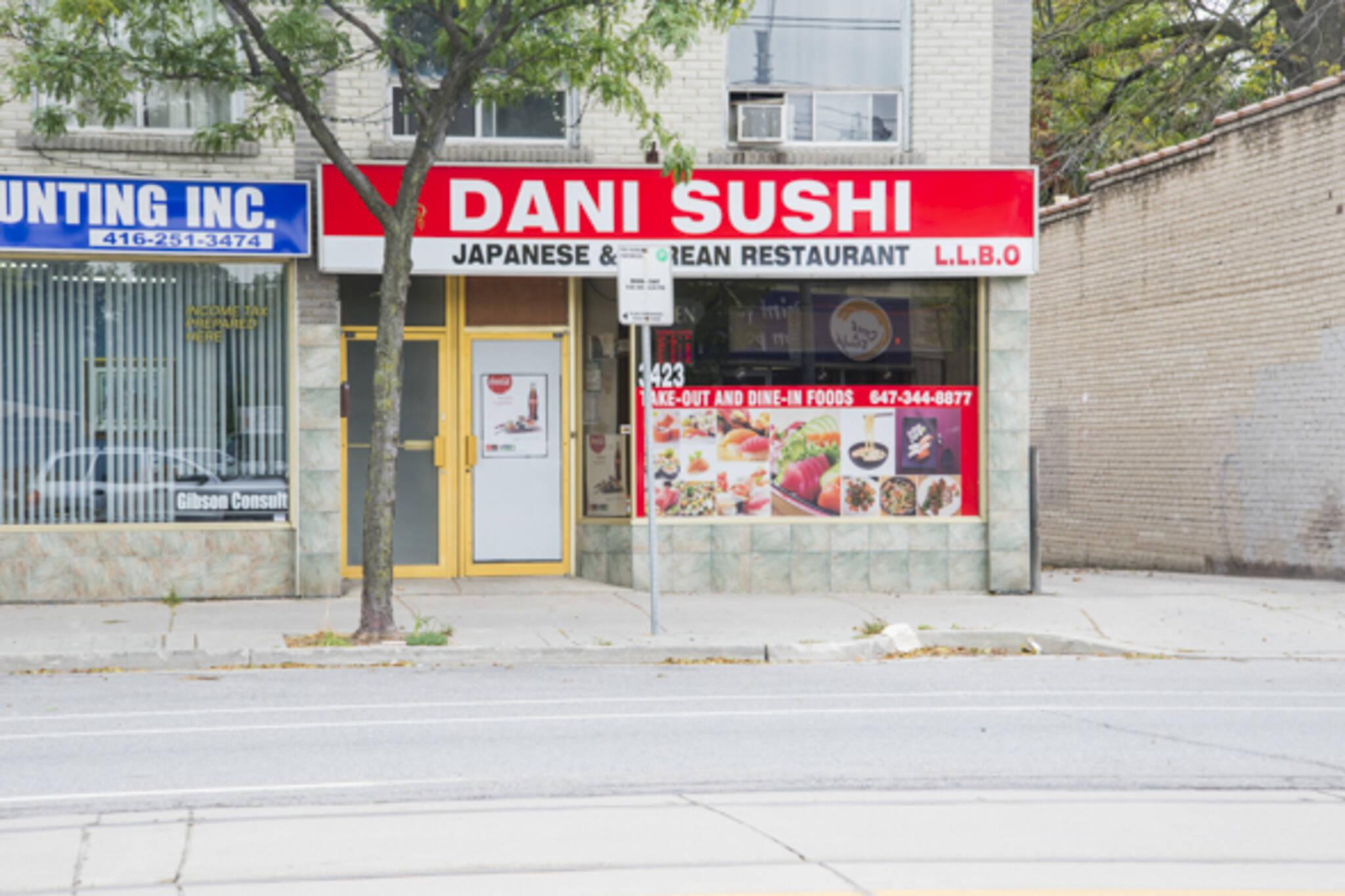 Dani Sushi Toronto