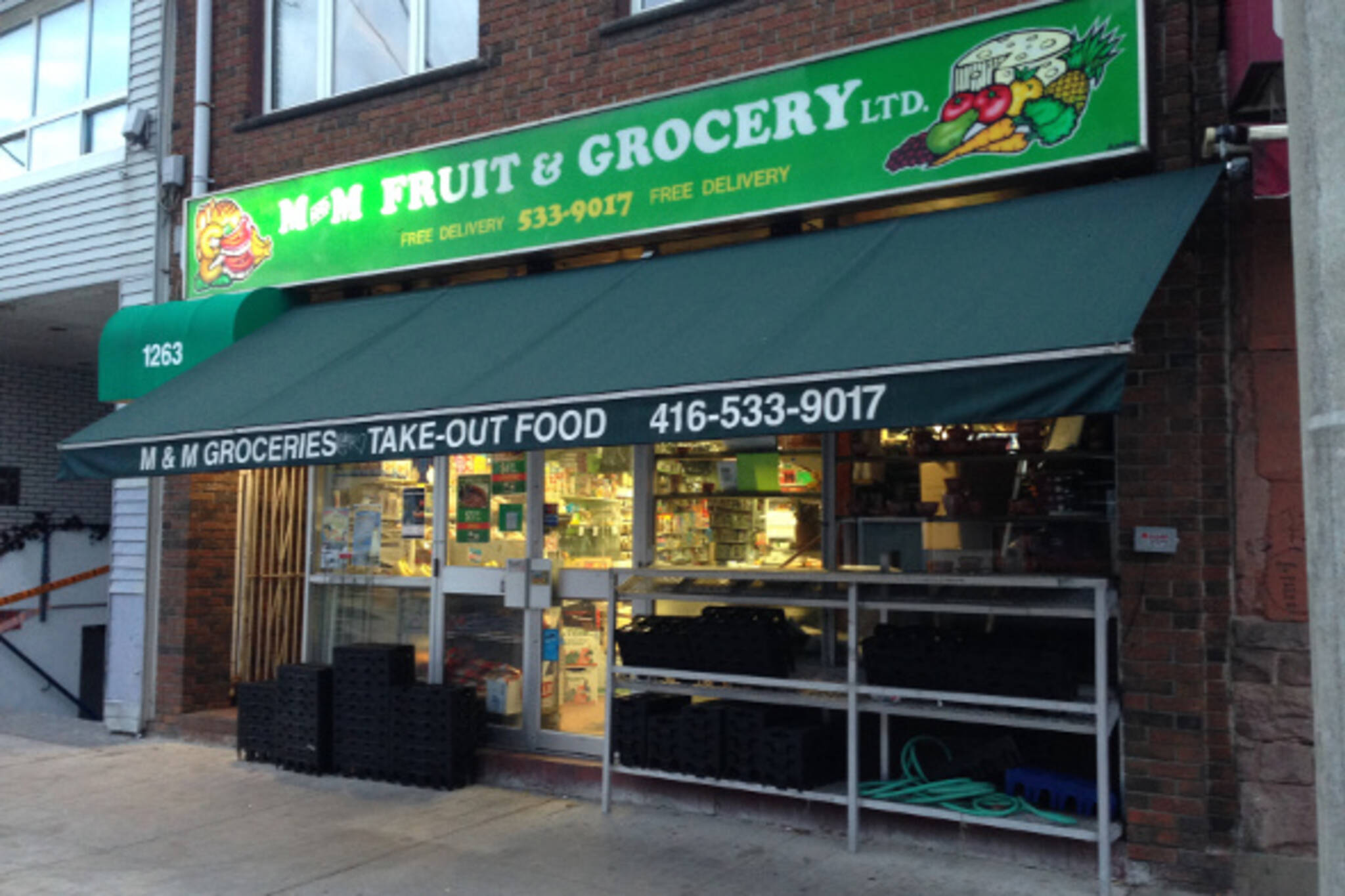 m and m fruit n grocery toronto