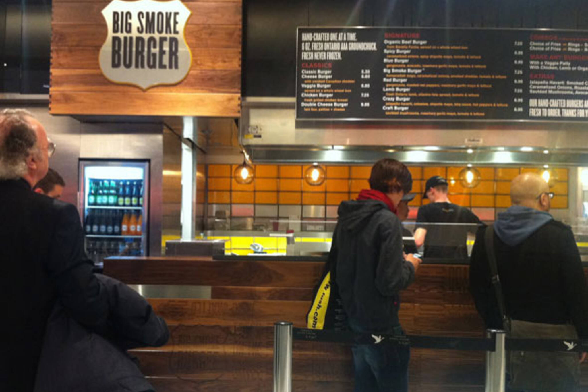 Big Smoke Burger (Urban Eatery) Toronto