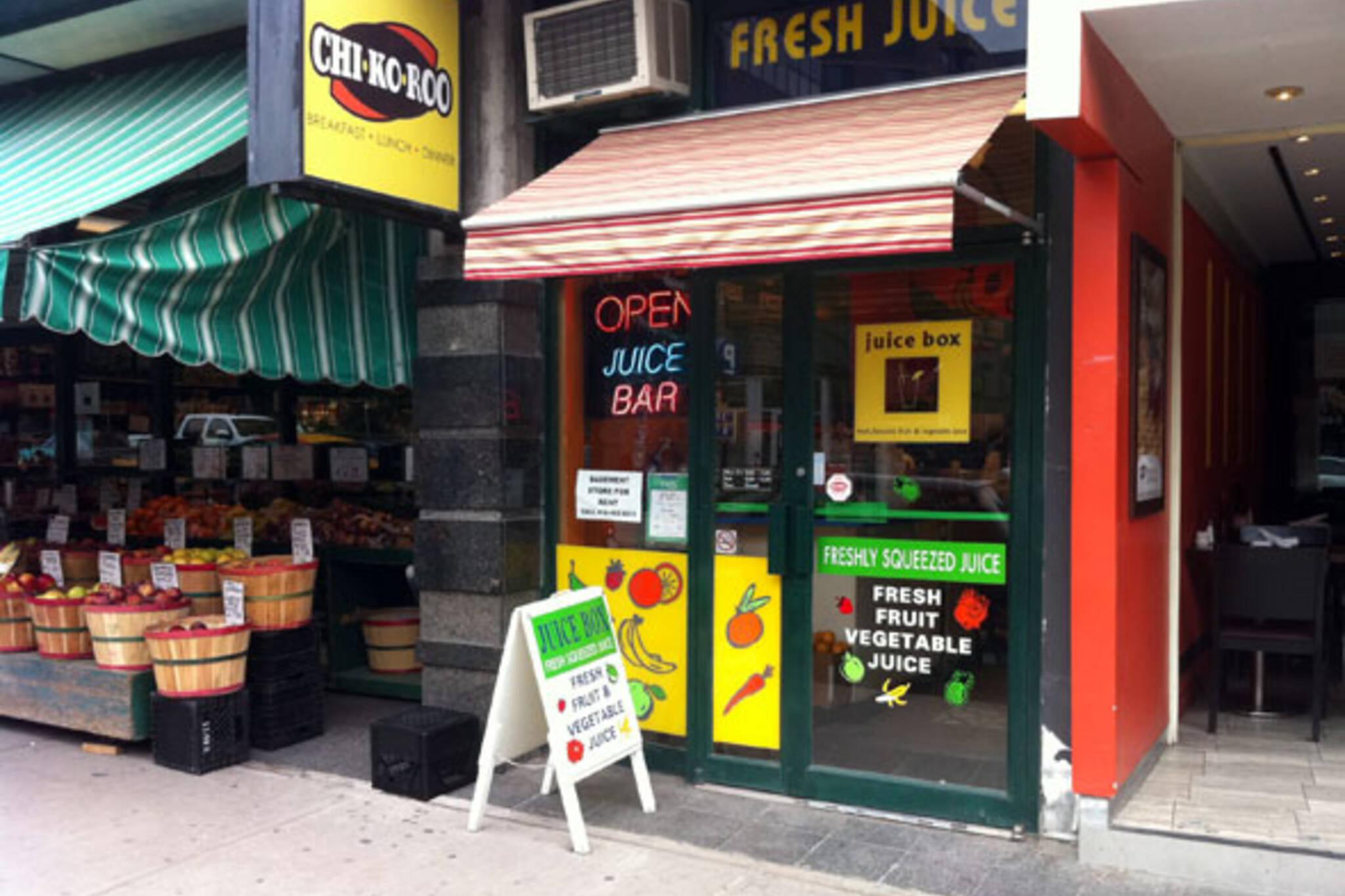 Juice Box Toronto