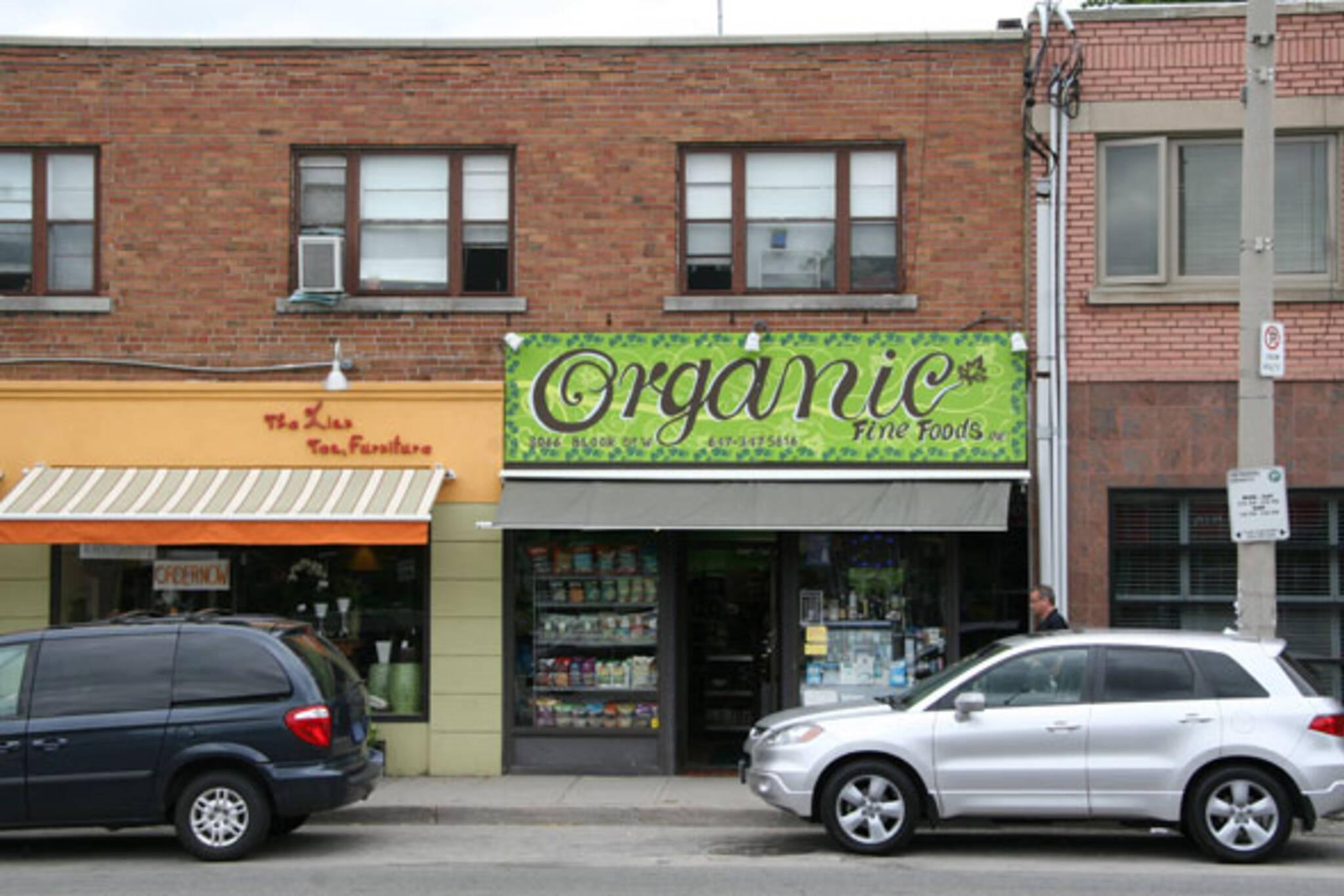 Organic Fine Foods Toronto
